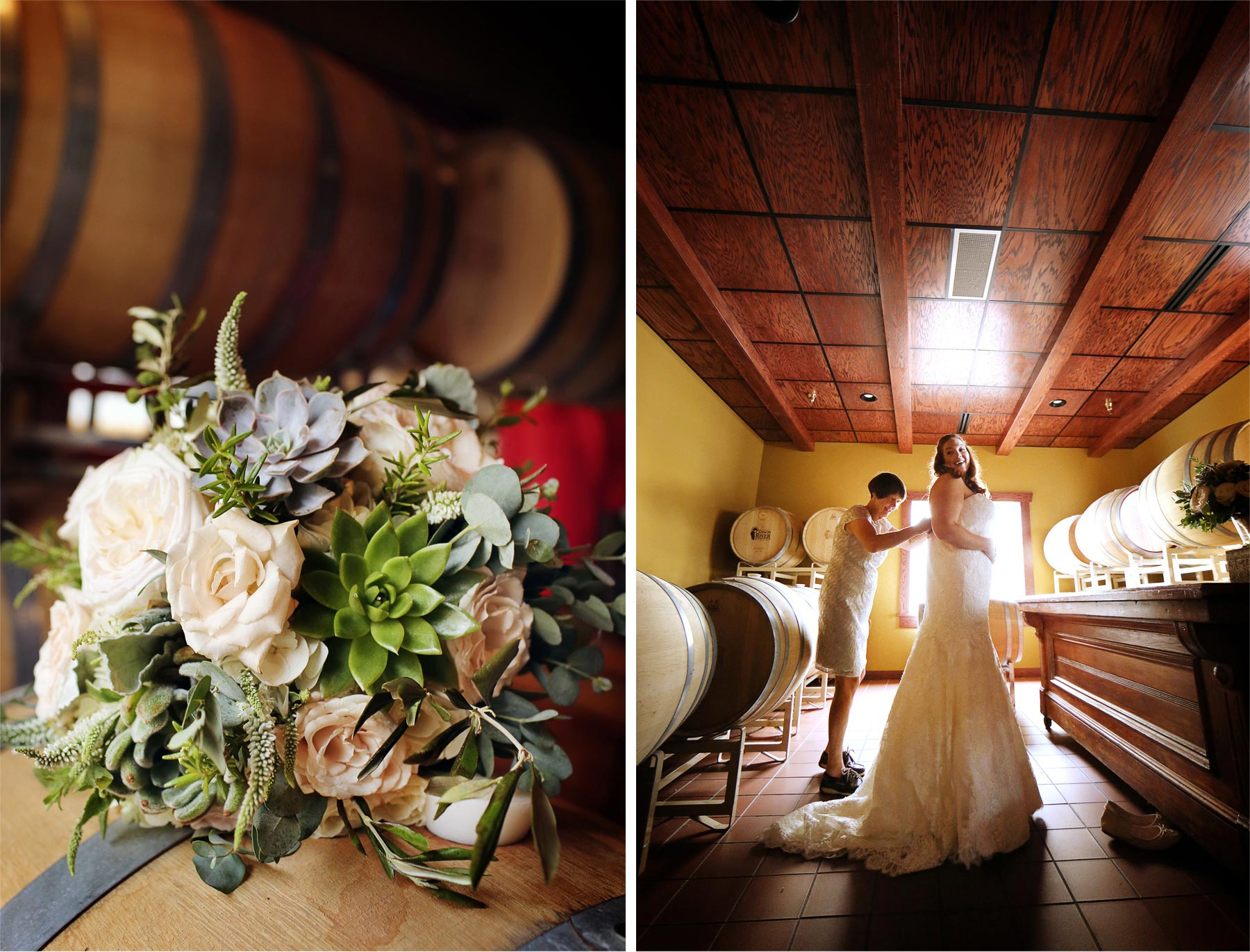 01-Cannon-Falls-Minnesota-Wedding-Photographer-by-Andrew-Vick-Photography-Summer-River-Winery-Getting-Ready-Bride-Mother-Dress-Flowers-Wine-Barrels-Becca-and-Donal.jpg