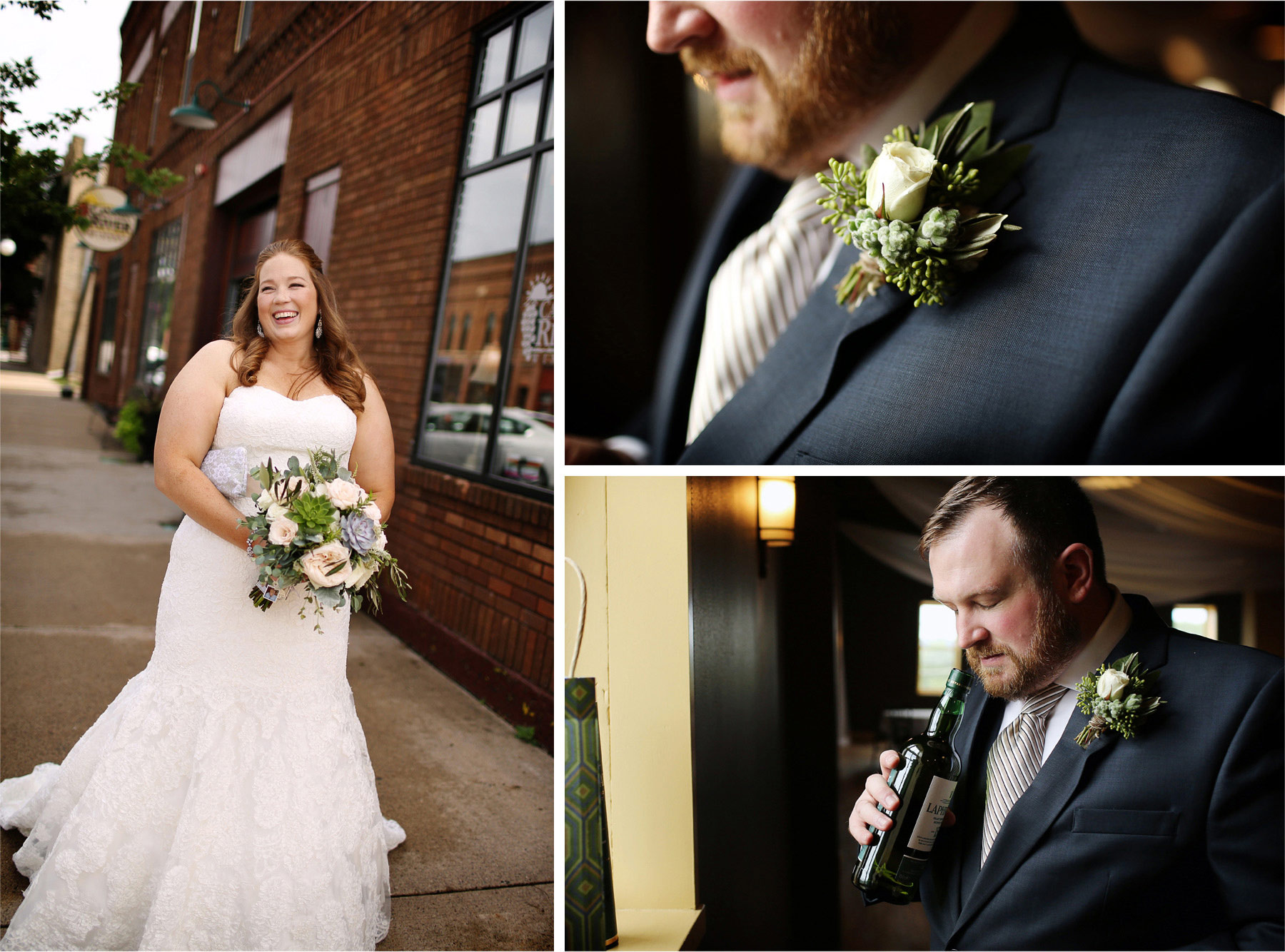 04-Cannon-Falls-Minnesota-Wedding-Photographer-by-Andrew-Vick-Photography-Summer-River-Winery-Bride-Groom-Flowers-Boutonniere-Wine-Becca-and-Donal.jpg