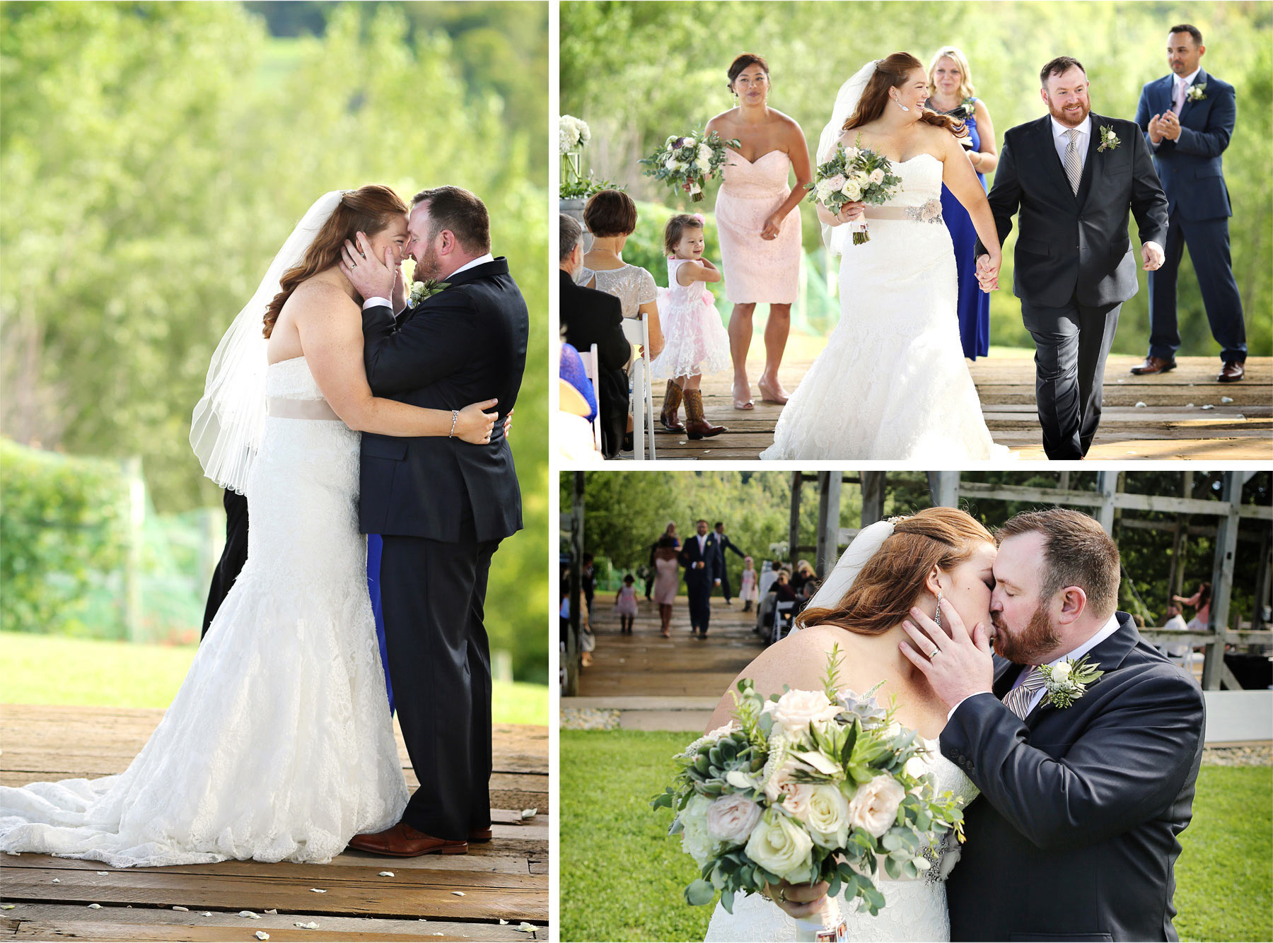 16-Cannon-Falls-Minnesota-Wedding-Photographer-by-Andrew-Vick-Photography-Summer-River-Winery-Ceremony-Bride-Groom-Embrace-Kiss-Vineyard-Becca-and-Donal.jpg