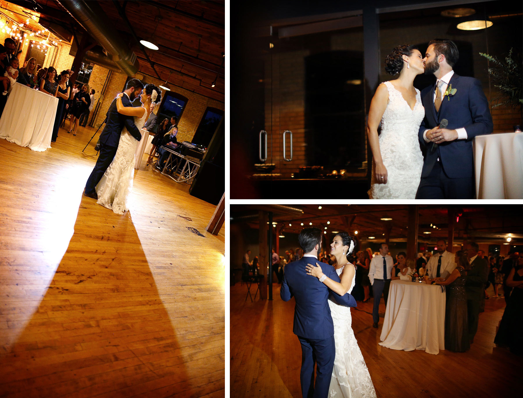 25-Minneapolis-Minnesota-Wedding-Photographer-by-Andrew-Vick-Photography-Summer-Solar-Arts-Reception-Dance-Kiss-Ashley-and-Eric.jpg