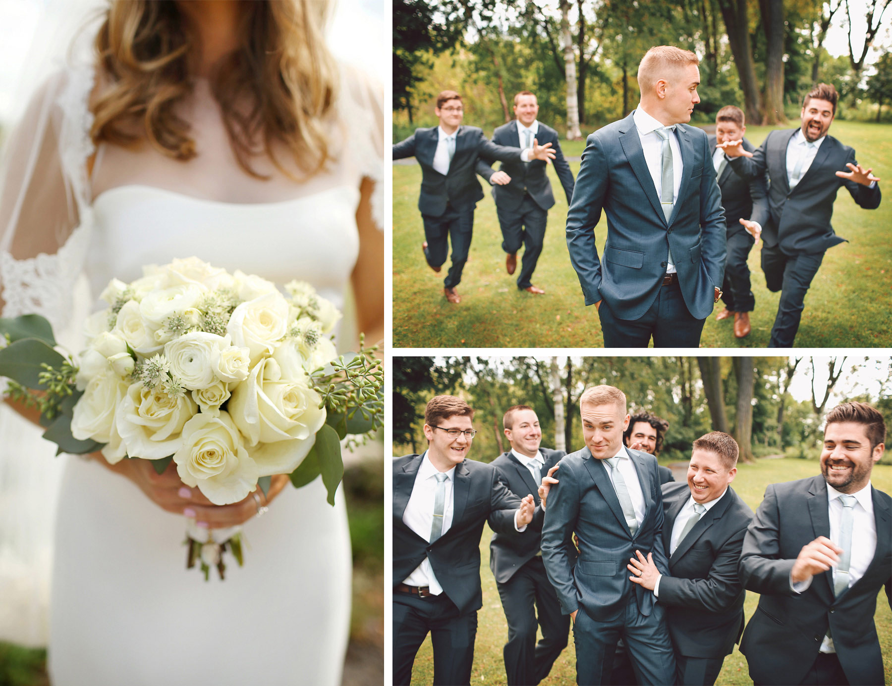 14-Dellwood-Minnesota-Wedding-Photographer-by-Andrew-Vick-Photography-Summer-Country-Club-Bride-Groom-Flowers-Groomsmen-Running-Vintage-Sarah-and-Landon.jpg