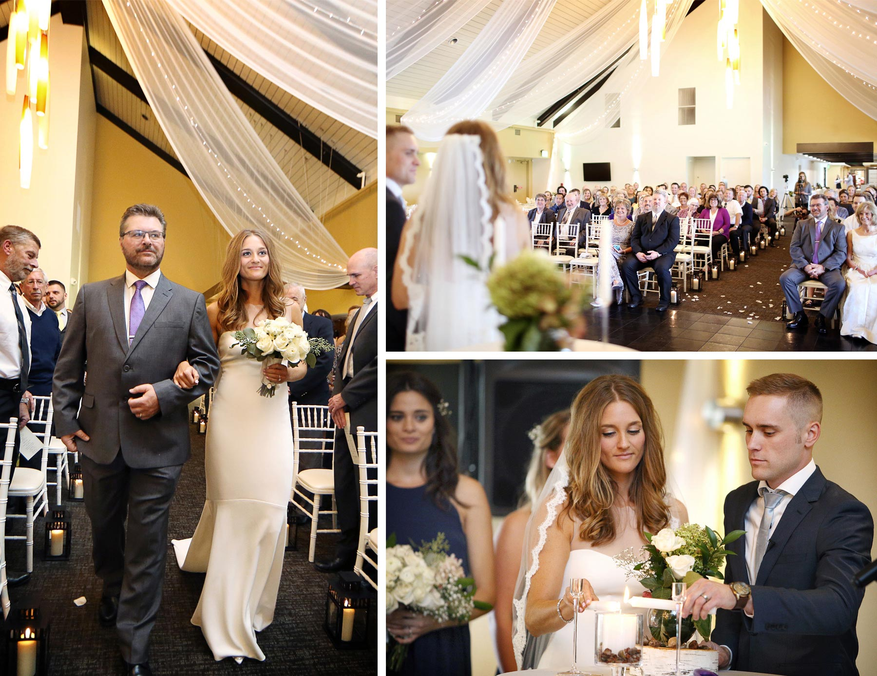 17-Dellwood-Minnesota-Wedding-Photographer-by-Andrew-Vick-Photography-Summer-Country-Club-Ceremony-Bride-Groom-Father-Parents-Candles-Vows-Sarah-and-Landon.jpg