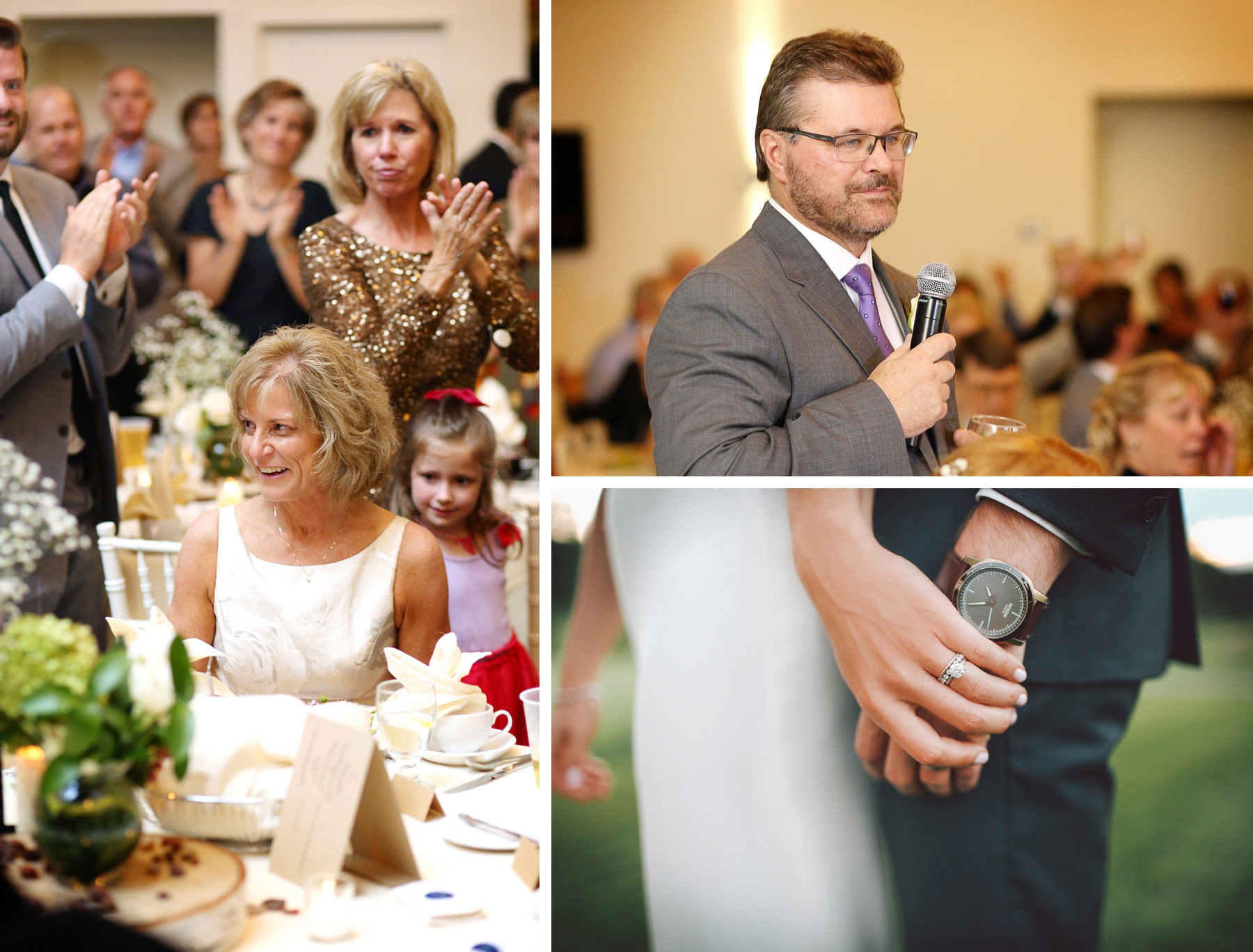 22-Dellwood-Minnesota-Wedding-Photographer-by-Andrew-Vick-Photography-Summer-Country-Club-Reception-Bride-Groom-Father-Parents-Speeches-Rings-Watch-Sarah-and-Landon.jpg