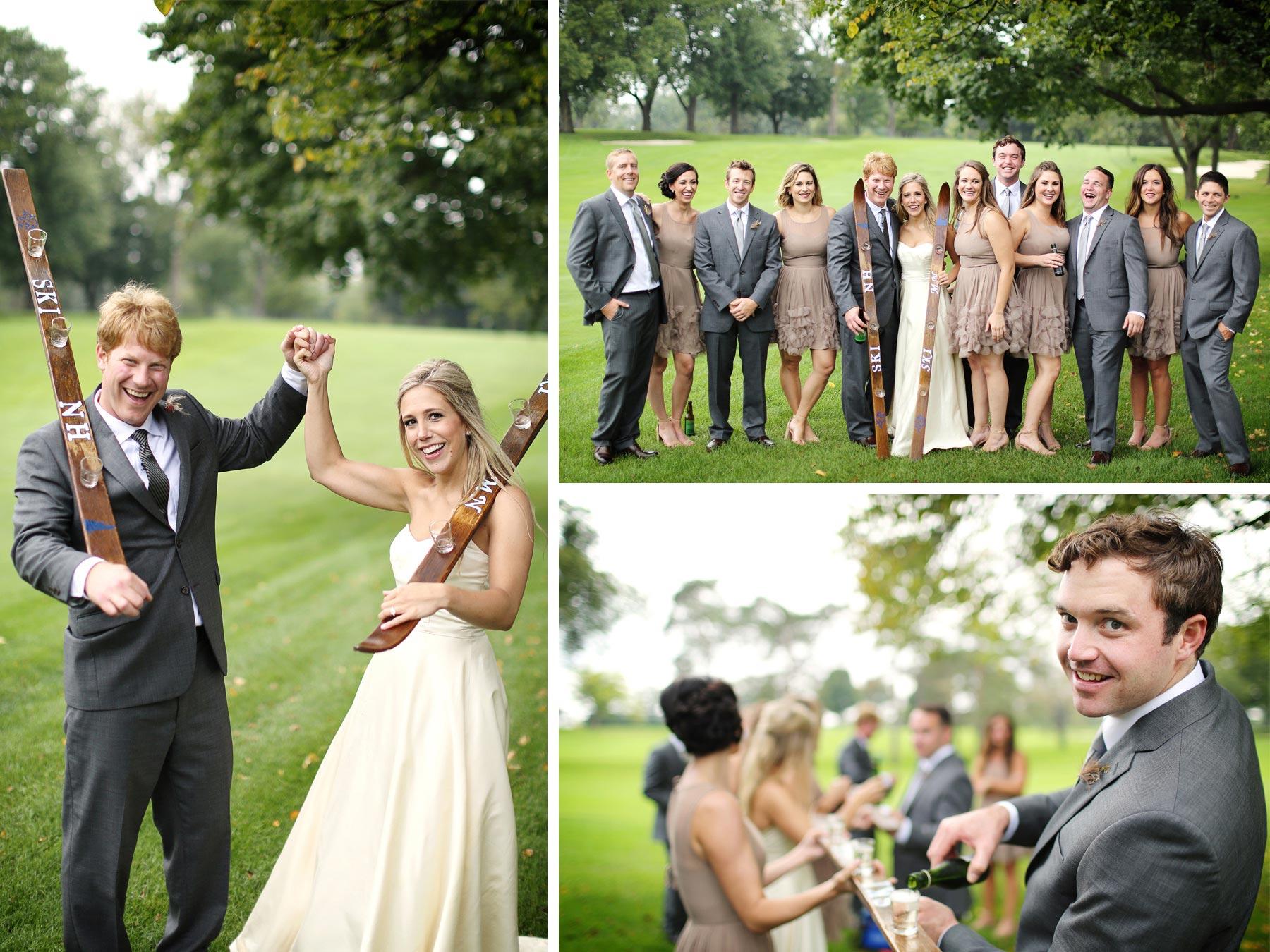 16-Minneapolis-Minnesota-Wedding-Photographer-by-Andrew-Vick-Photography-Fall-Autumn-Minikahda-Club-Bride-Groom-Bridal-Party-Bridesmaids-Groomsmen-Champagne-Shot-Ski-Golf-Course-Krissy-and-James.jpg