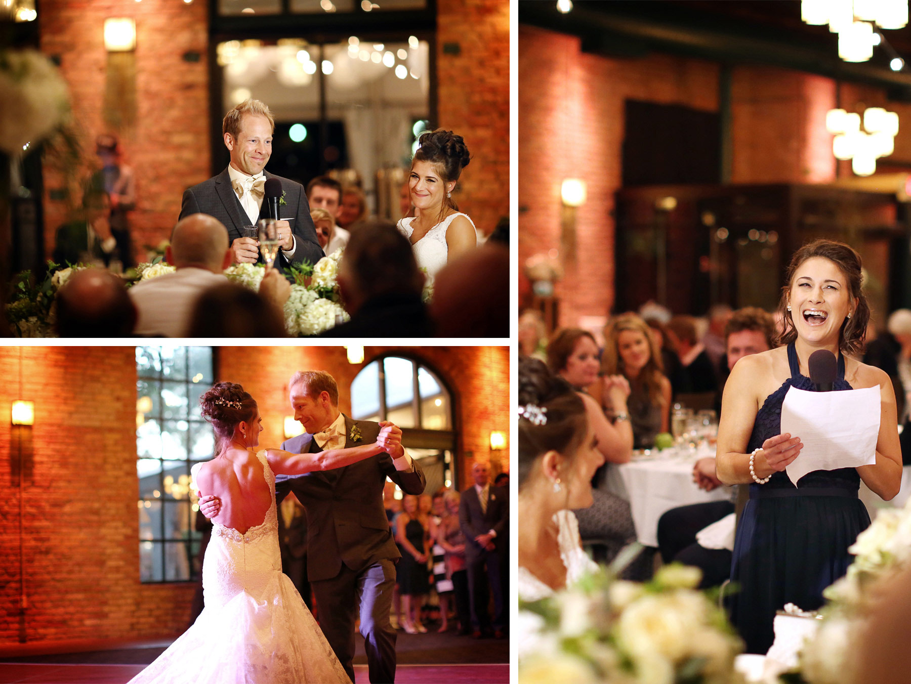 24-Minneapolis-Minnesota-Wedding-Photographer-by-Andrew-Vick-Photography-Fall-Autumn-Nicollet-Island-Pavillion-Bride-Groom-Speeches-Bridesmaid-Dance-Paula-and-Jason.jpg