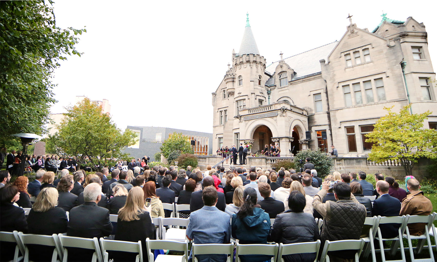 14-Minneapolis-Minnesota-Wedding-Photographer-by-Andrew-Vick-Photography-Fall-Autumn-American-Swedish-Institute-Ceremony-Groom-Guests-Ben-and-Adam.jpg