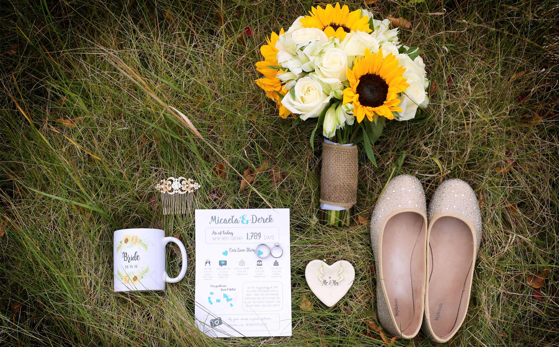 01-Stillwater-Minnesota-Wedding-Photographer-by-Andrew-Vick-Photography-Fall-Autumn-StoneRidge-Golf-Club-Getting-Ready-Flowers-Shoes-Jewelry-Hair-Comb-Earrings-Rings-Mug-Program-Grass-Micaela-and-Derek.jpg