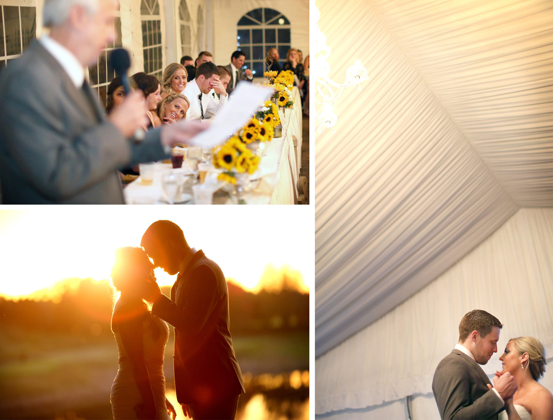 21-Stillwater-Minnesota-Wedding-Photographer-by-Andrew-Vick-Photography-Fall-Autumn-StoneRidge-Golf-Club-Bride-Groom-Father-Parents-Laughter-Speeches-Sunset-Sunflare-Dance-Micaela-and-Derek.jpg