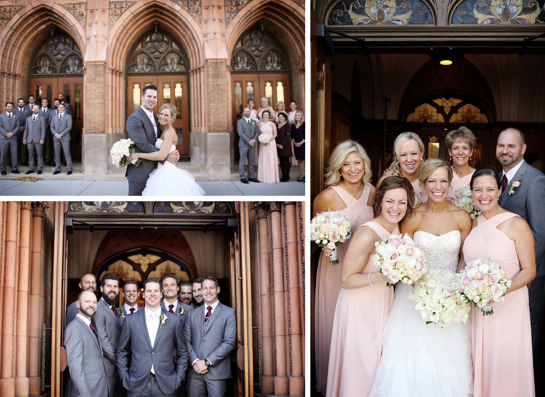 15-Milwaukee-Wisconsin-Wedding-Photographer-by-Andrew-Vick-Photography-Fall-Autumn-Destination-Grave-Evangelical-Lutheran-Church-Bride-Groom-Bridal-Party-Groomsmen-Bridesmaids-Flowers-Tina-and-Kevin.jpg