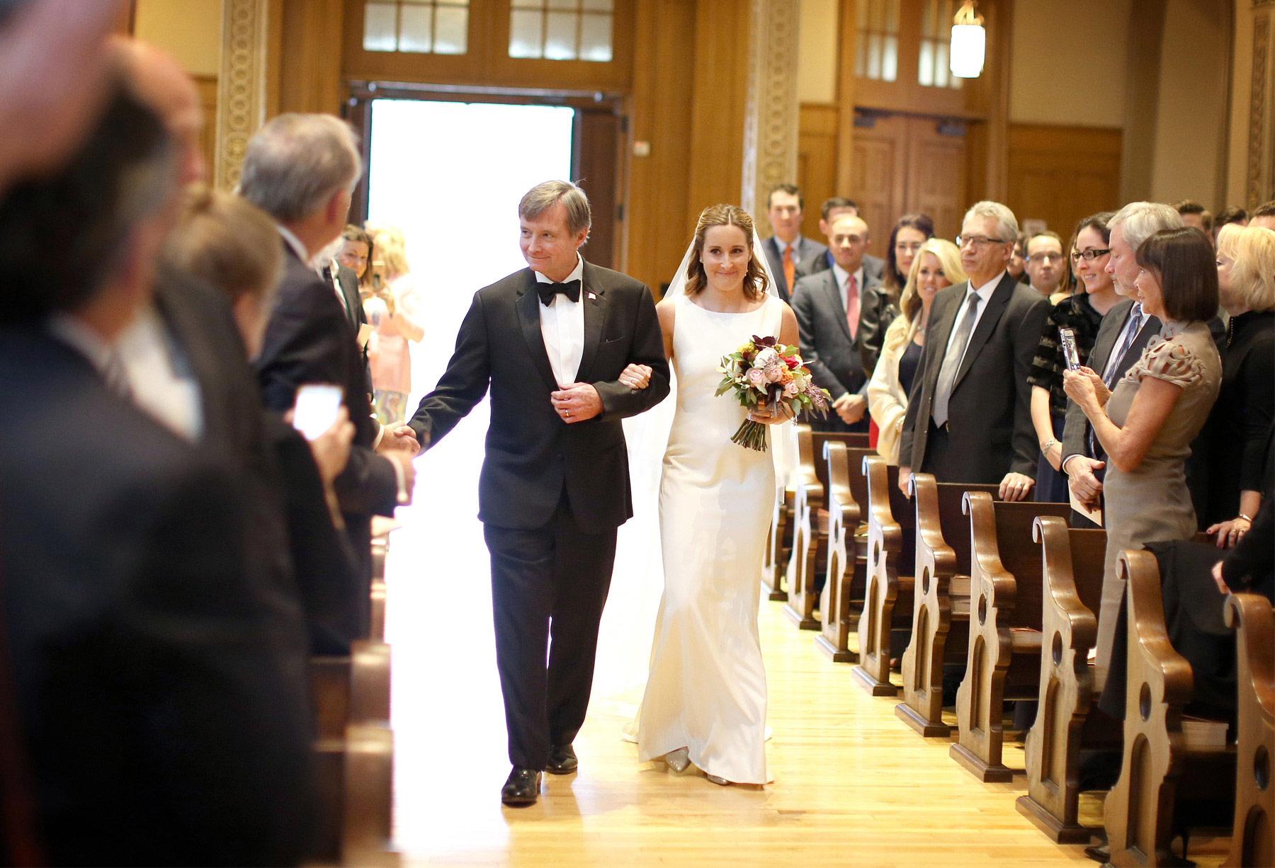 06-Saint-Paul-Minnesota-Wedding-Photographer-by-Andrew-Vick-Photography-Fall-Autumn-Church-of-the-Assumption-Ceremony-Bride-Processional-Father-Parents-Kathryn-and-Sam.jpg