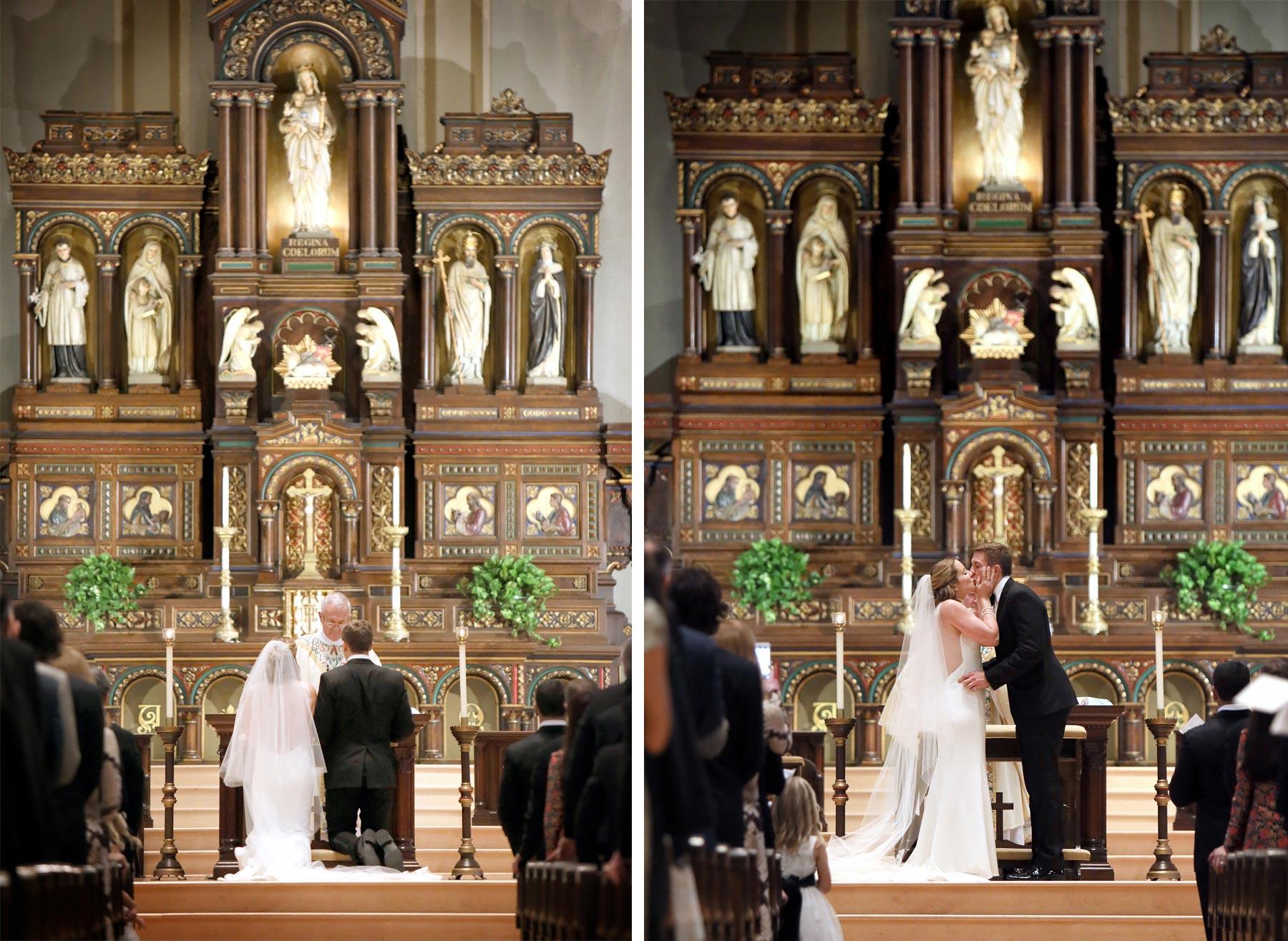 09-Saint-Paul-Minnesota-Wedding-Photographer-by-Andrew-Vick-Photography-Fall-Autumn-Church-of-the-Assumption-Ceremony-Bride-Groom-Vows-Kiss-Kathryn-and-Sam.jpg