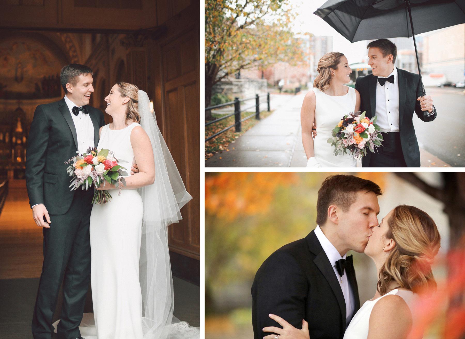 10-Saint-Paul-Minnesota-Wedding-Photographer-by-Andrew-Vick-Photography-Fall-Autumn-Church-of-the-Assumption-Ceremony-Bride-Groom-Rice-Park-Umbrella-Rain-Kiss-Vintage-Kathryn-and-Sam.jpg