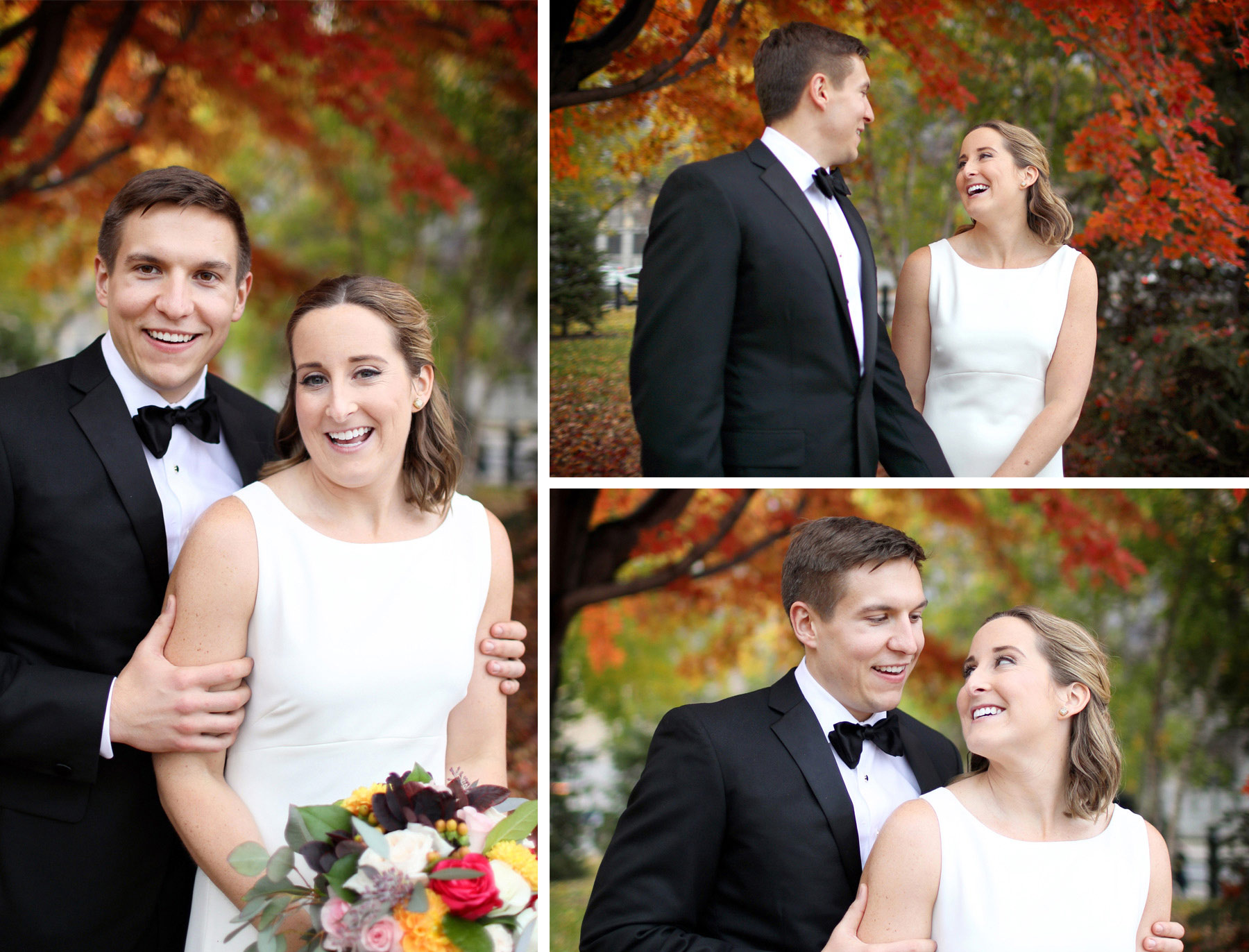 12-Saint-Paul-Minnesota-Wedding-Photographer-by-Andrew-Vick-Photography-Fall-Autumn-Rice-Park-Bride-Groom-Embrace-Laughter-Kathryn-and-Sam.jpg