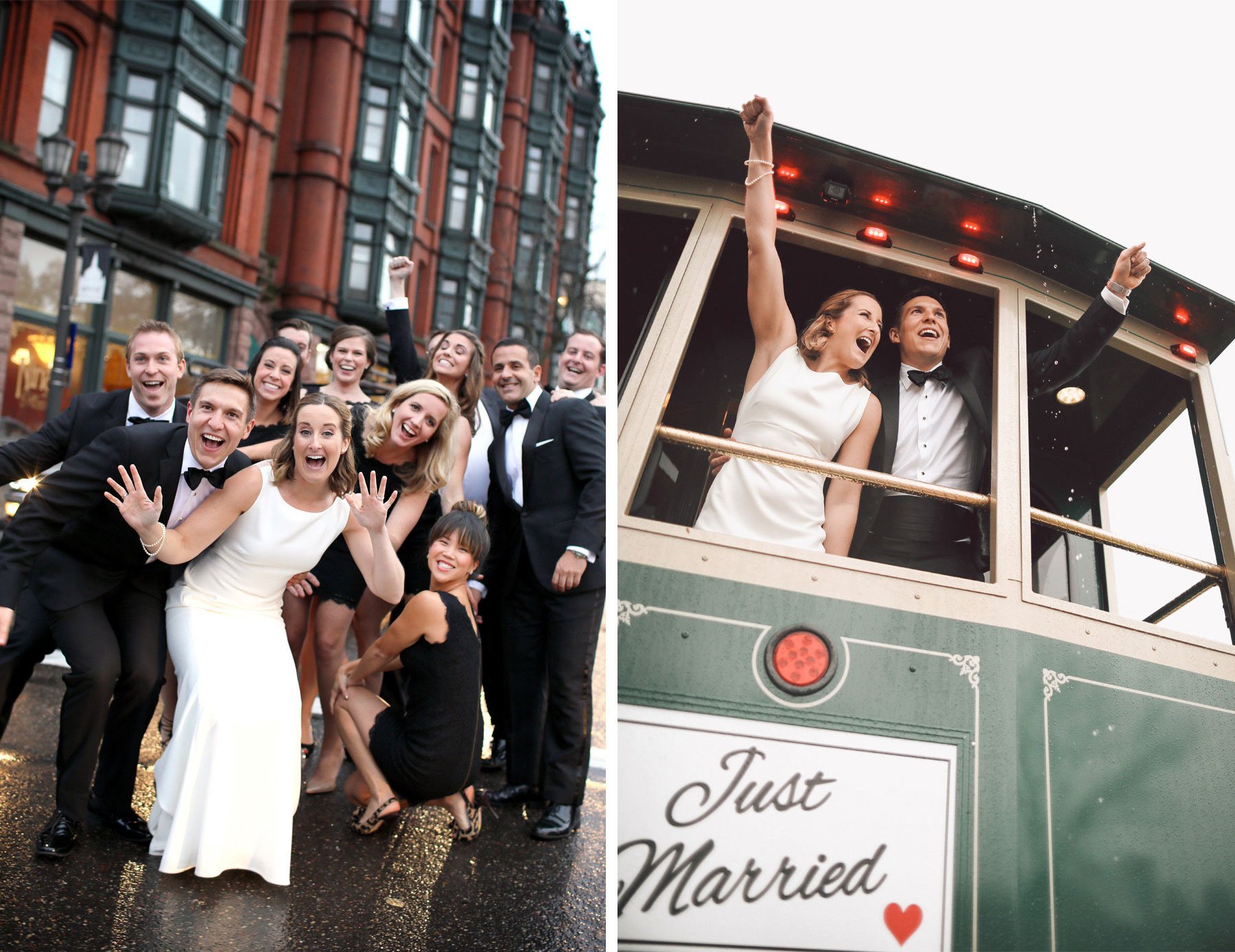 17-Saint-Paul-Minnesota-Wedding-Photographer-by-Andrew-Vick-Photography-Fall-Autumn-Bride-Groom-Bridal-Party-Groomsmen-Bridesmaids-Rain-Trolley-Vintage-Kathryn-and-Sam.jpg