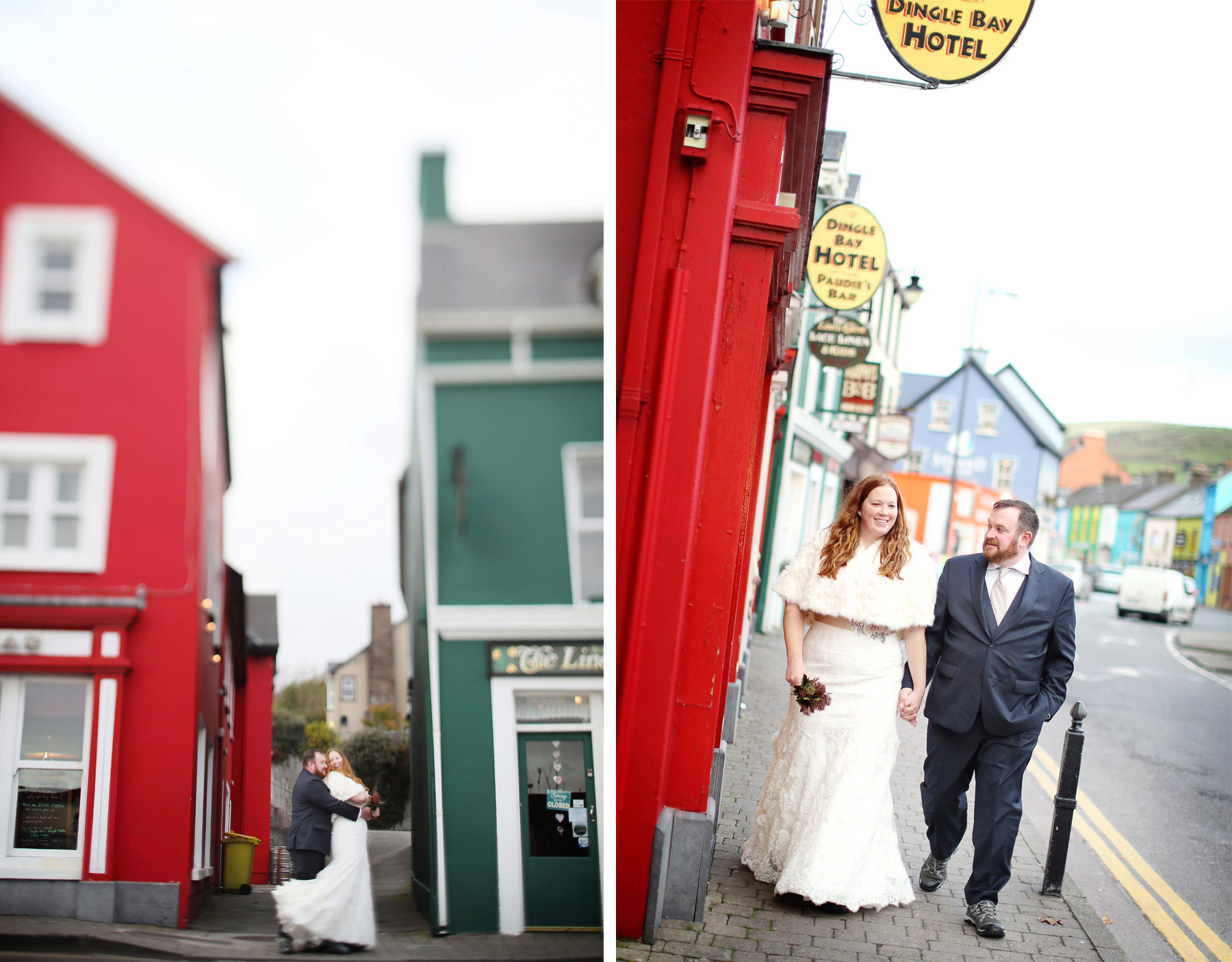 10-Kilarney-Ireland-Wedding-Photographer-by-Andrew-Vick-Photography-Fall-Autumn-Destination-Bride-Groom-Village-Embrace-Tilt-Shift-Becca-and-Donal.jpg