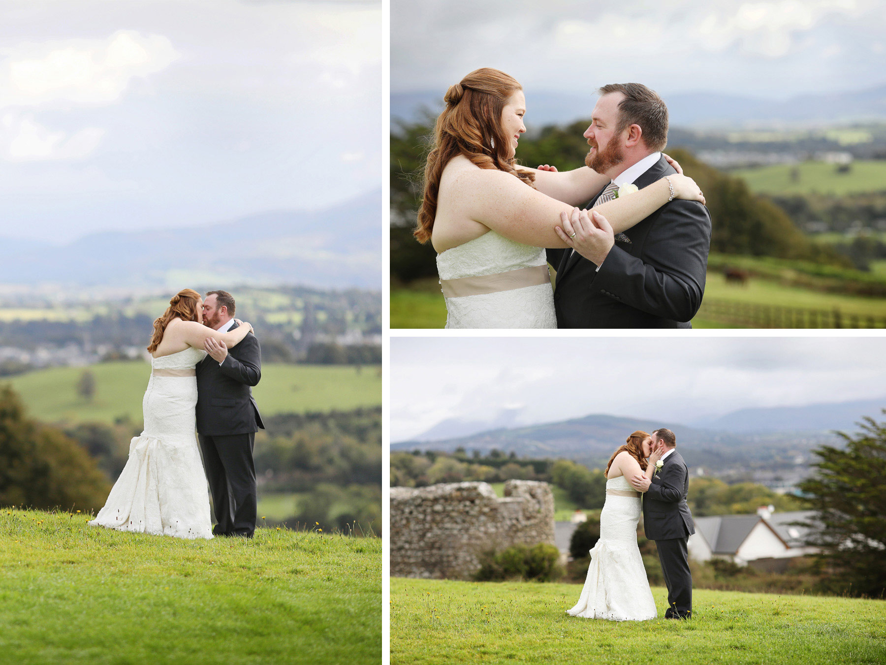 22-Kilarney-Ireland-Wedding-Photographer-by-Andrew-Vick-Photography-Fall-Autumn-Destination-First-Meeting-Look-Bride-Groom-Kiss-Embrace-Landscape-Village-Field-Becca-and-Donal.jpg