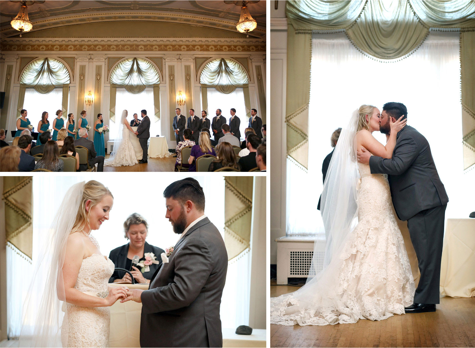 15-Duluth-Minnesota-Wedding-Photographer-by-Andrew-Vick-Photography-Fall-Autumn-Greysolon-Ballroom-Ceremony-Bride-Groom-Vows-Rings-Kiss-Molly-and-Carson.jpg