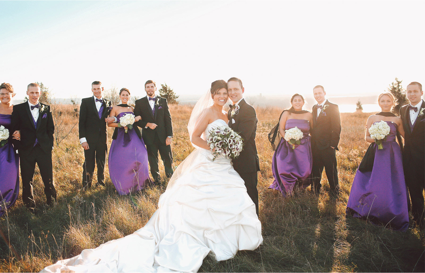 16-Eden-Prairie-Minnesota-Wedding-Photographer-by-Andrew-Vick-Photography-Fall-Autumn-Bearpath-Golf-Country-Club-Bride-Groom-Bridal-Party-Bridesmaids-Groomsmen-Field-Vintage-Brittany-and-Ryan.jpg