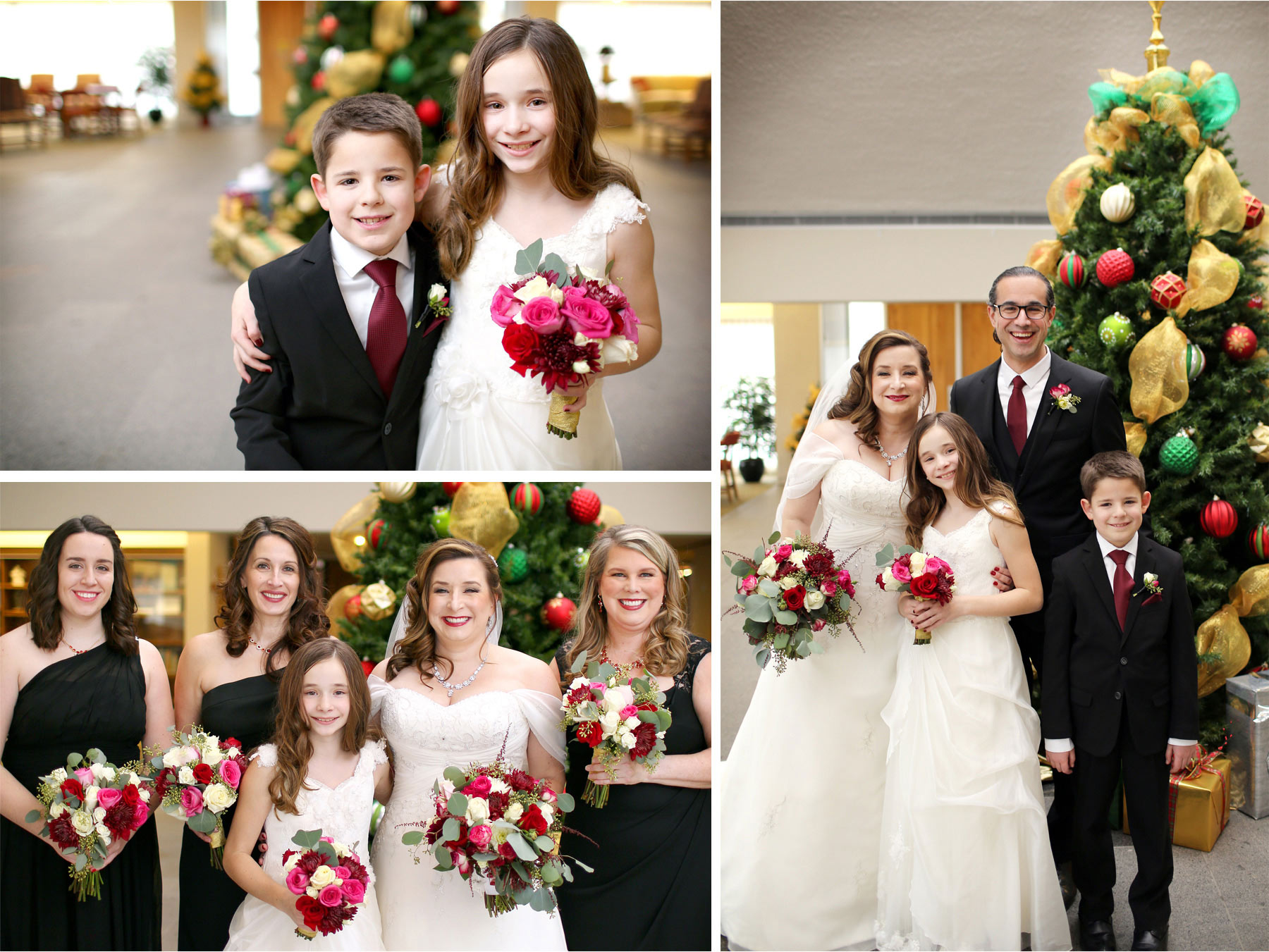 09-Edina-Minnesota-Wedding-Photographer-by-Andrew-Vick-Photography-Winter-Saint-Patricks-Catholic-Church-Bride-Groom-Bridesmaids-Flower-Girl-Ring-Bearer-Christmas-Tree-Decorations-Vintage-Elizabeth-and-Brian.jpg