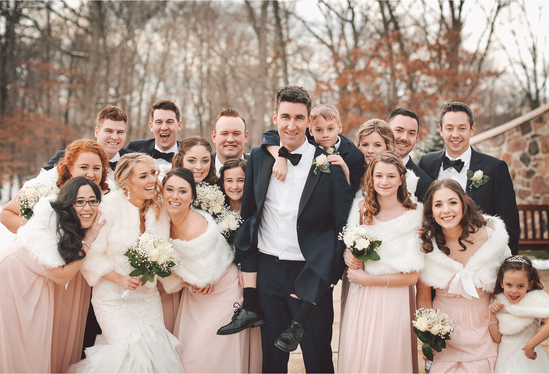 13-Watchung-New-Jersey-Wedding-Photographer-by-Andrew-Vick-Photography-Winter-Saint-Marys-Chuch-Stony-Hill-Bride-Groom-Bridal-Party-Bridesmaids-Groomsmen-Ring-Bearer-Flower-Girl-Fur-Coat-Shrug-Vintage-Alexia-and-Justin.jpg