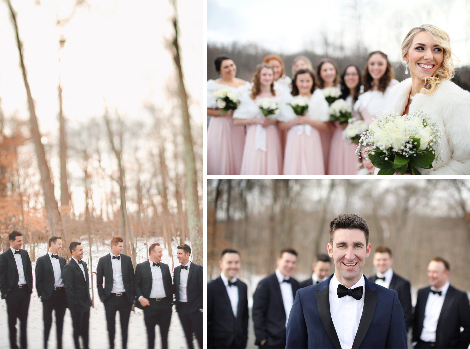 14-Watchung-New-Jersey-Wedding-Photographer-by-Andrew-Vick-Photography-Winter-Saint-Marys-Chuch-Stony-Hill-Bride-Groom-Bridesmaids-Groomsmen-Fur-Coat-Shrug-Vintage-Alexia-and-Justin.jpg