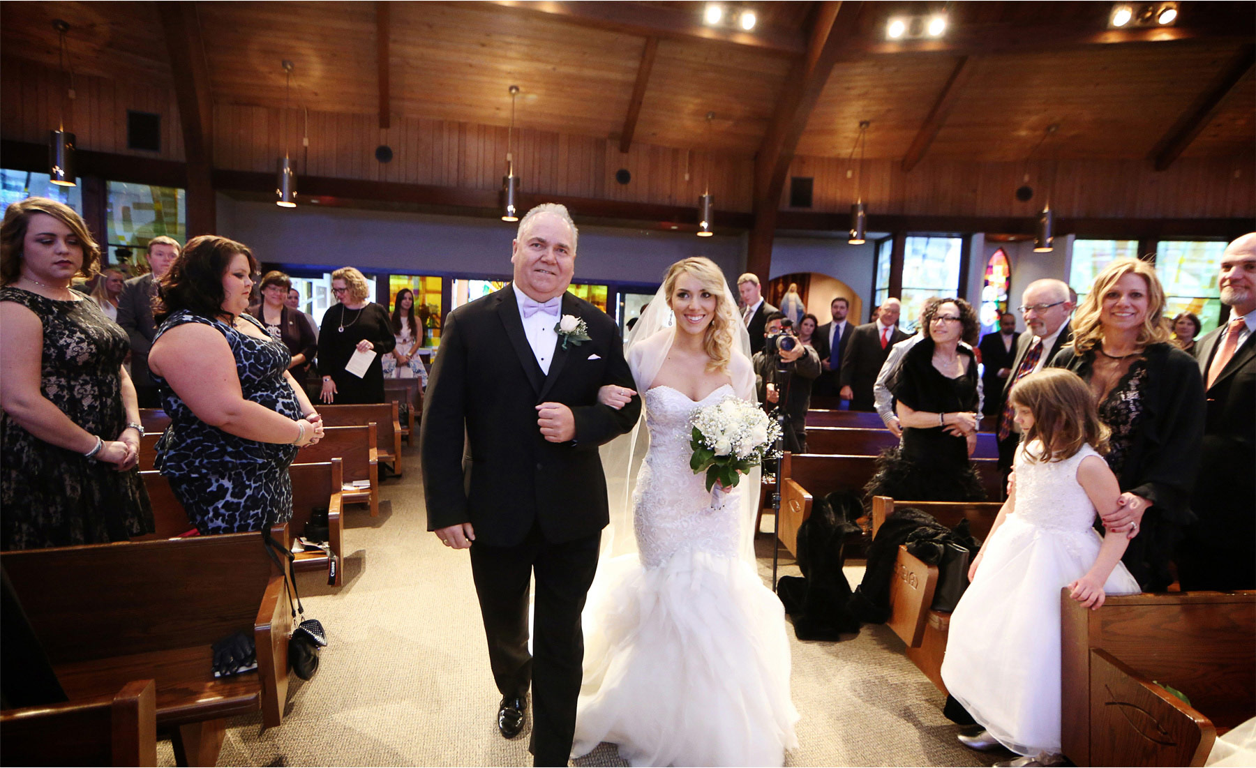 15-Watchung-New-Jersey-Wedding-Photographer-by-Andrew-Vick-Photography-Winter-Saint-Marys-Chuch-Stony-Hill-Ceremony-Bride-Father-Parents-Processional-Alexia-and-Justin.jpg