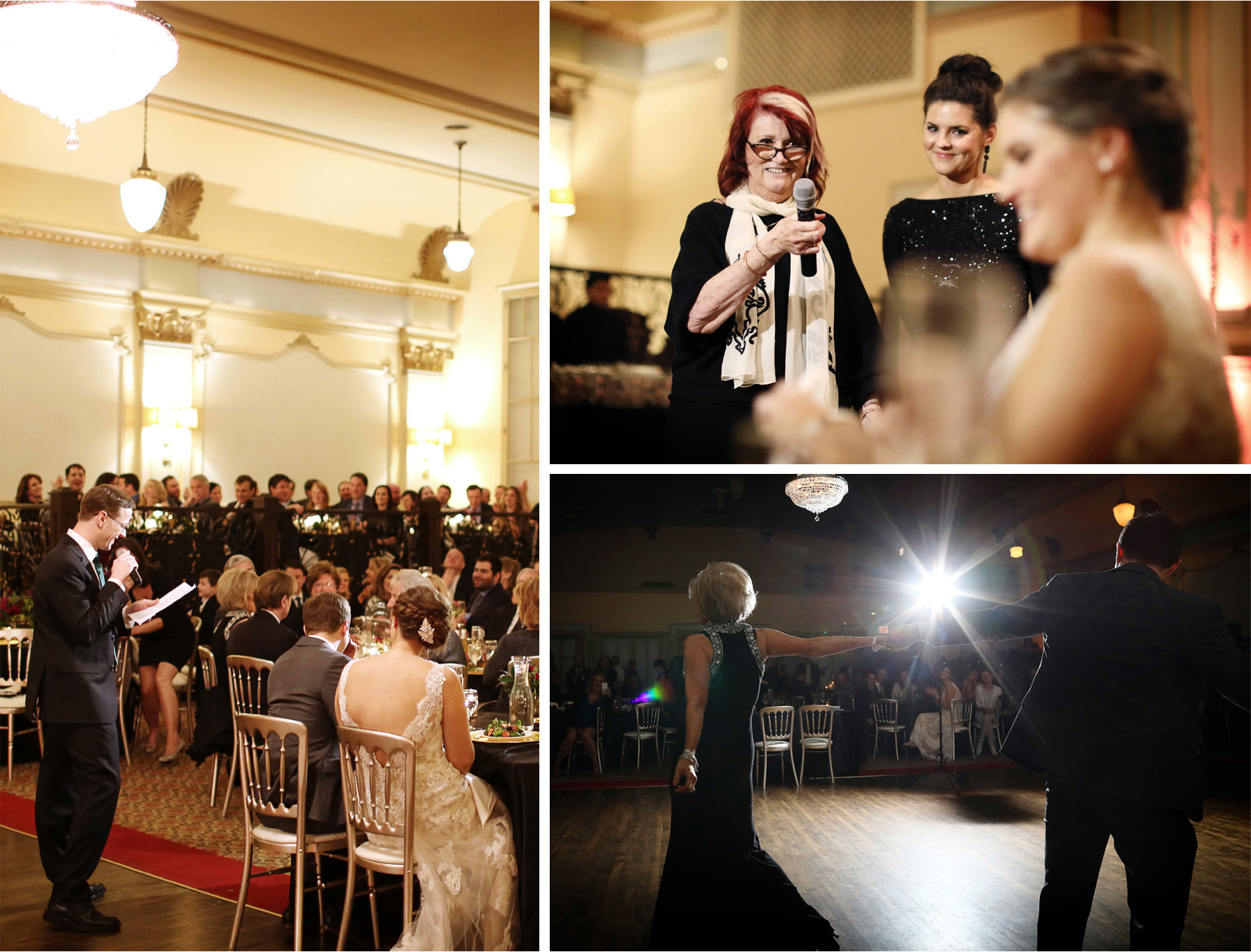 21-Chicago-Illinois-Wedding-Photographer-by-Andrew-Vick-Photography-Winter-Stan-Mansion-Reception-Bride-Groom-Groomsmen-Guests-Speeches-Mother-Dance-Colleen-and-Mike.jpg