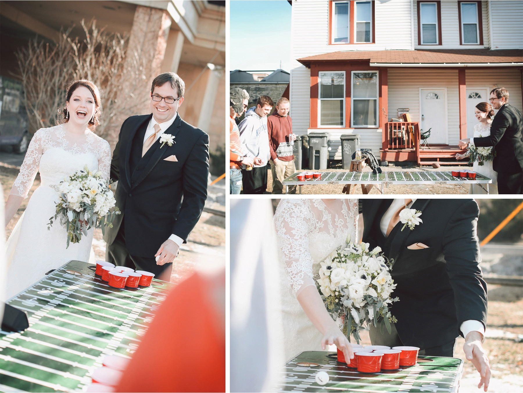11-Minneapolis-Minnesota-Wedding-Photographer-by-Andrew-Vick-Photography-Winter-Bride-Groom-Beer-Pong-Fraternity-College-Vintage-Sara-and-Rob.jpg