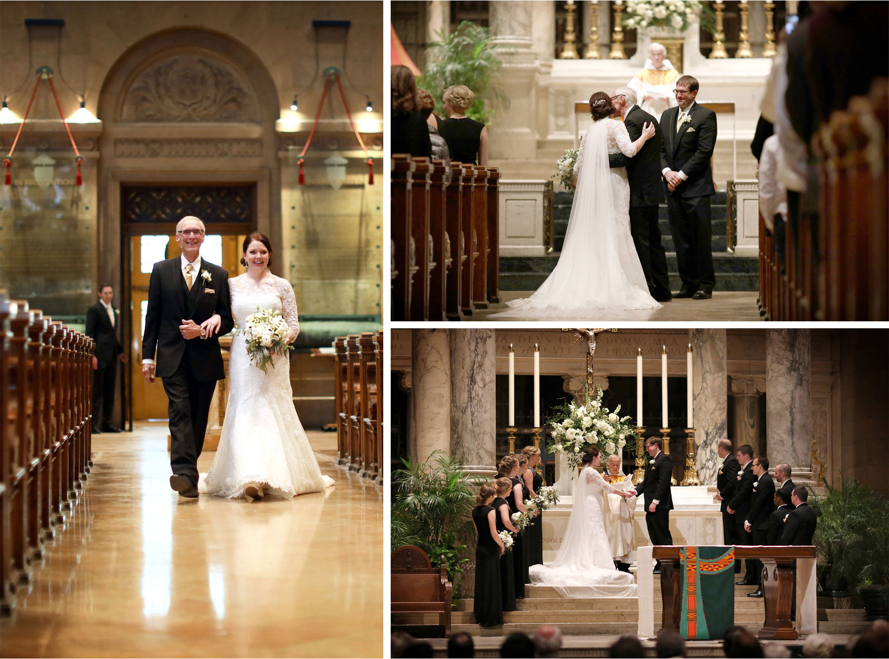 13-Minneapolis-Minnesota-Wedding-Photographer-by-Andrew-Vick-Photography-Winter-Basilica-of-Saint-Mary-Church-Bride-Groom-Father-Parents-Processional-Vows-Sara-and-Rob.jpg