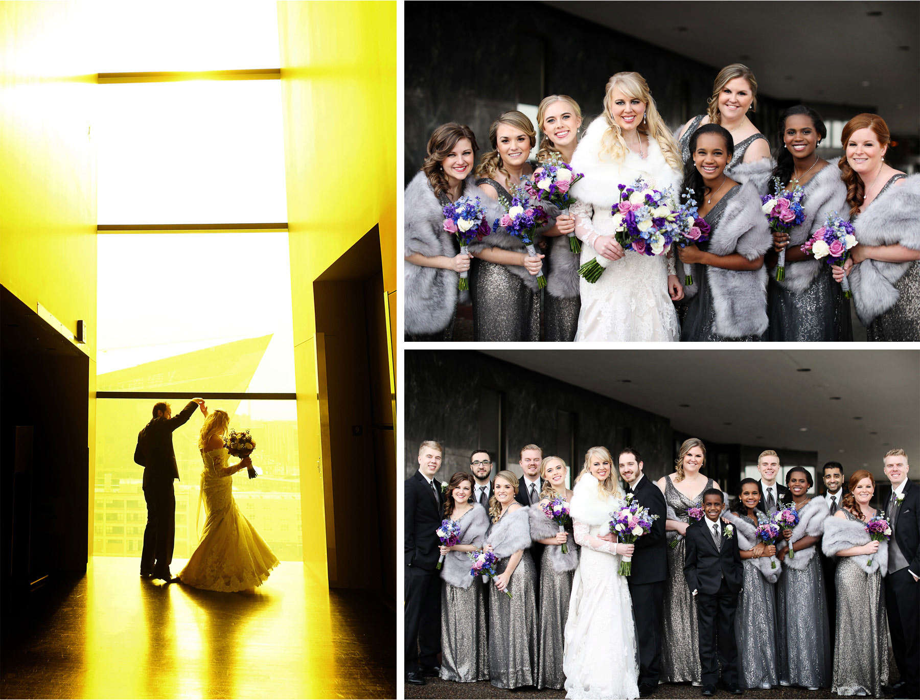 10-Minneapolis-Minnesota-Wedding-Photographer-by-Andrew-Vick-Photography-Winter-Guthrie-Theater-Millennium-Hotel-Bride-Groom-Bridal-Party-Bridesmaids-Groomsmen-Level-Nine-Yellow-Room-Downtown-Jennifer-and-Phillip.jpg