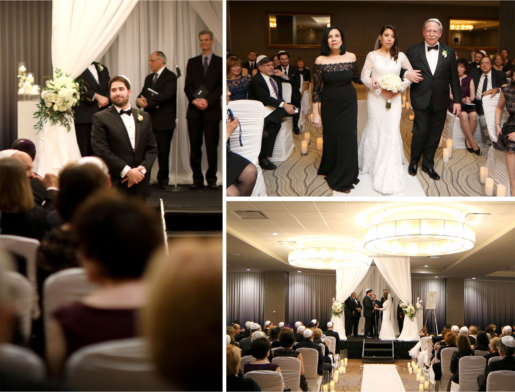 11-Minneapolis-Minnesota-Wedding-Photographer-by-Andrew-Vick-Photography-Winter-Hyatt-Regency-Hotel-Ceremony-Bride-Groom-Mother-Father-Parents-Processional-Rings-Yarmulke-Chuppah-Amy-and-Jordan.jpg