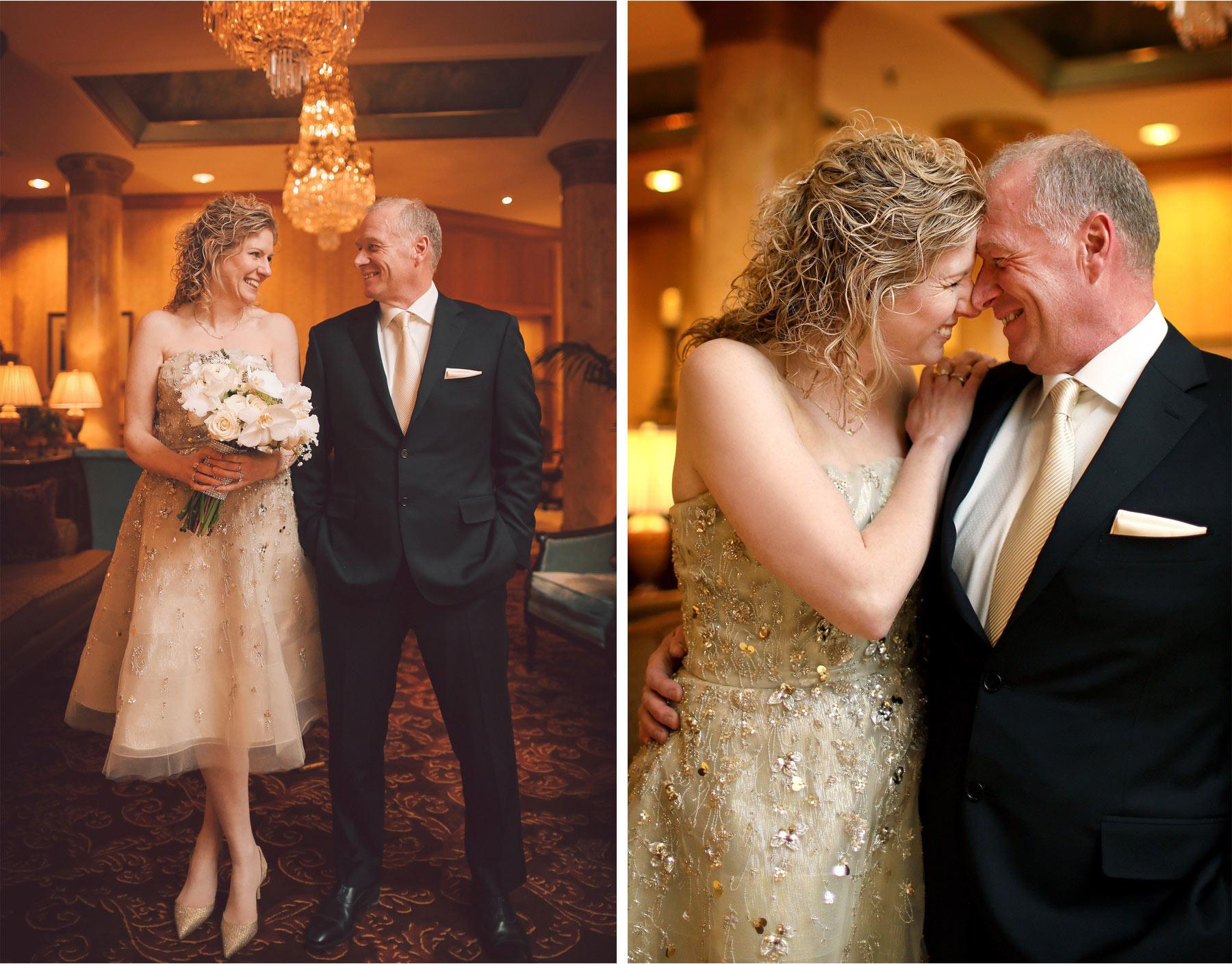 06-Saint-Paul-Minnesota-Wedding-Photographer-by-Andrew-Vick-Photography-Winter-Landmark-Center-First-Meeting-Look-Bride-Groom-Flowers-Embrace-Laughter-Vintage-Dannette-and-Darren.jpg