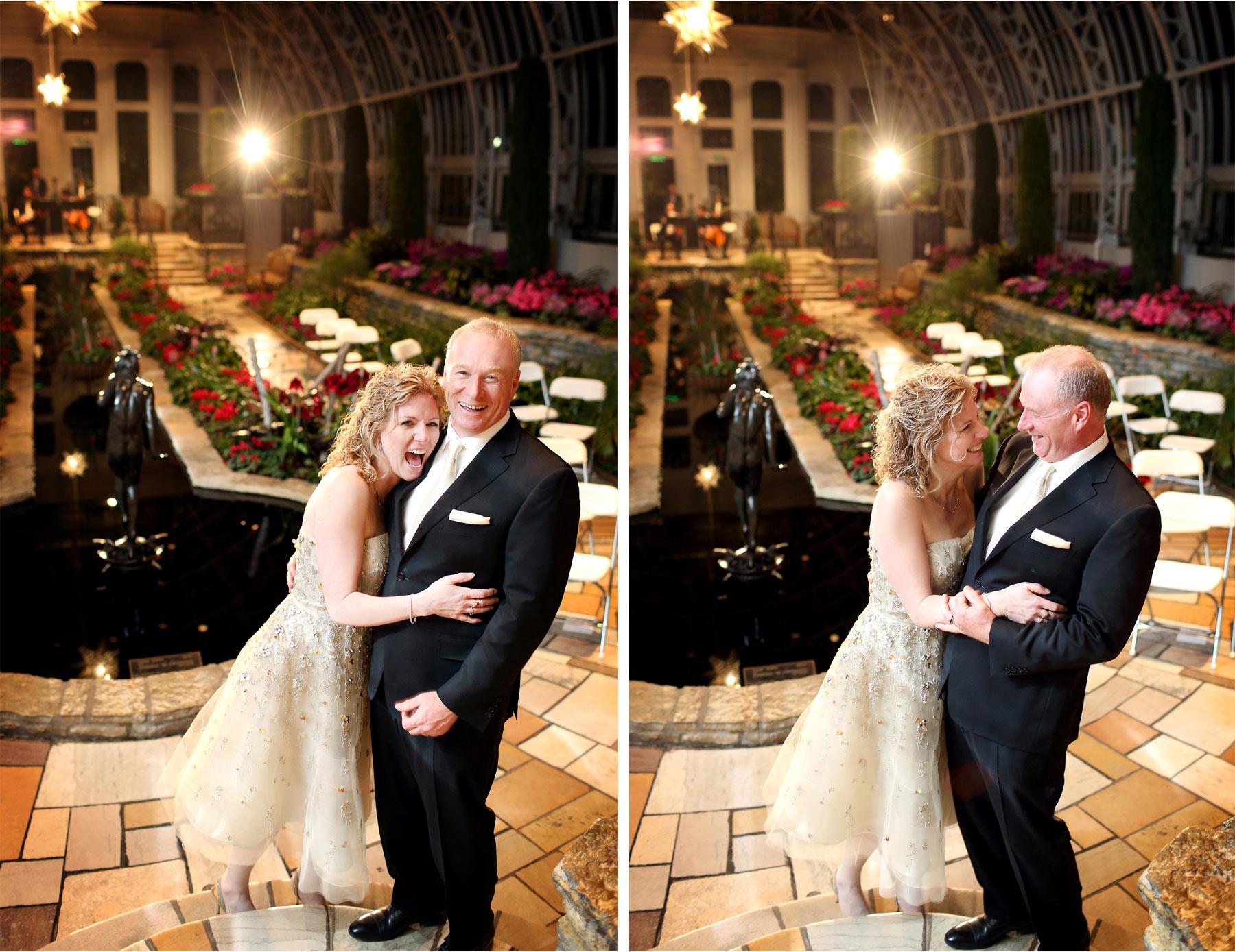 18-Saint-Paul-Minnesota-Wedding-Photographer-by-Andrew-Vick-Photography-Winter-Como-Park-Conservatory-Sunken-Garden-Bride-Groom-Excitement-Flowers-Night-Dannette-and-Darren.jpg