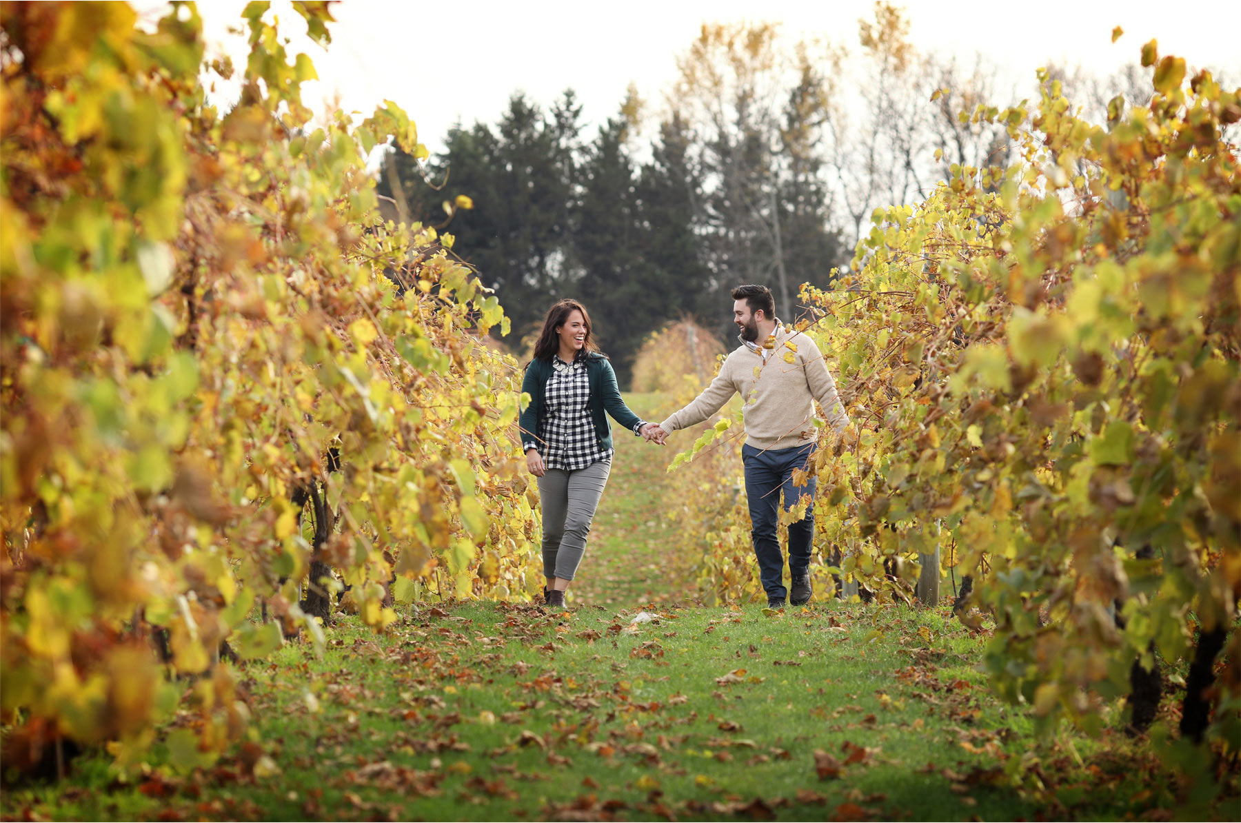 05-Stillwater-Minnesota-Wedding-Photographer-by-Andrew-Vick-Photography-Fall-Autumn-Engagement-Bride-Groom-Apple-Orchard-Vineyard-Hand-Holding-Vintage-Gillian-and-Nick.jpg