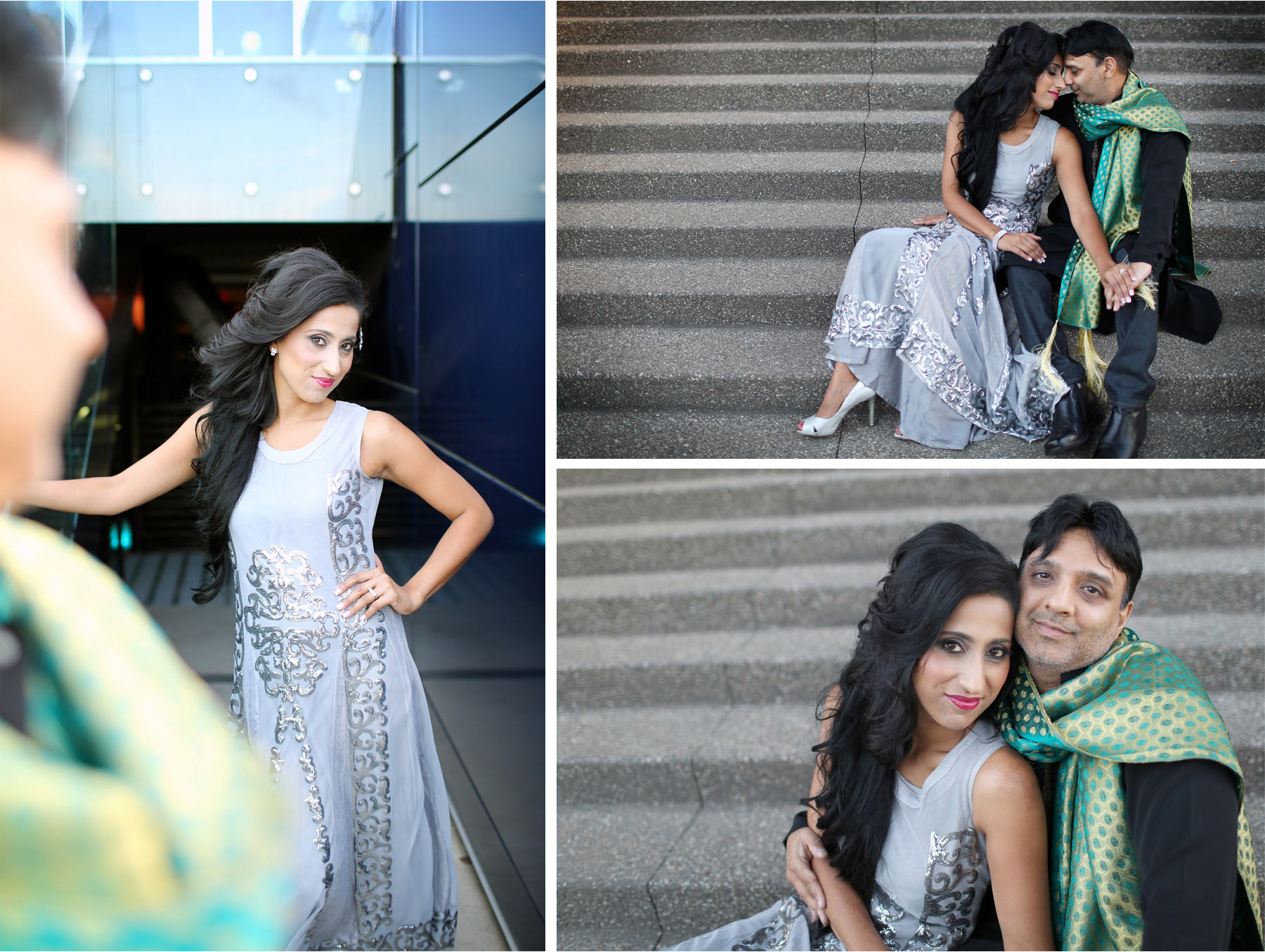 12-Minneapolis-Minnesota-Wedding-Photographer-by-Andrew-Vick-Photography-Summber-Engagement-Bride-Groom-Guthrie-Theater-Embrace-Tradional-Indian-Clothing-Natasha-and-Sohail.jpg