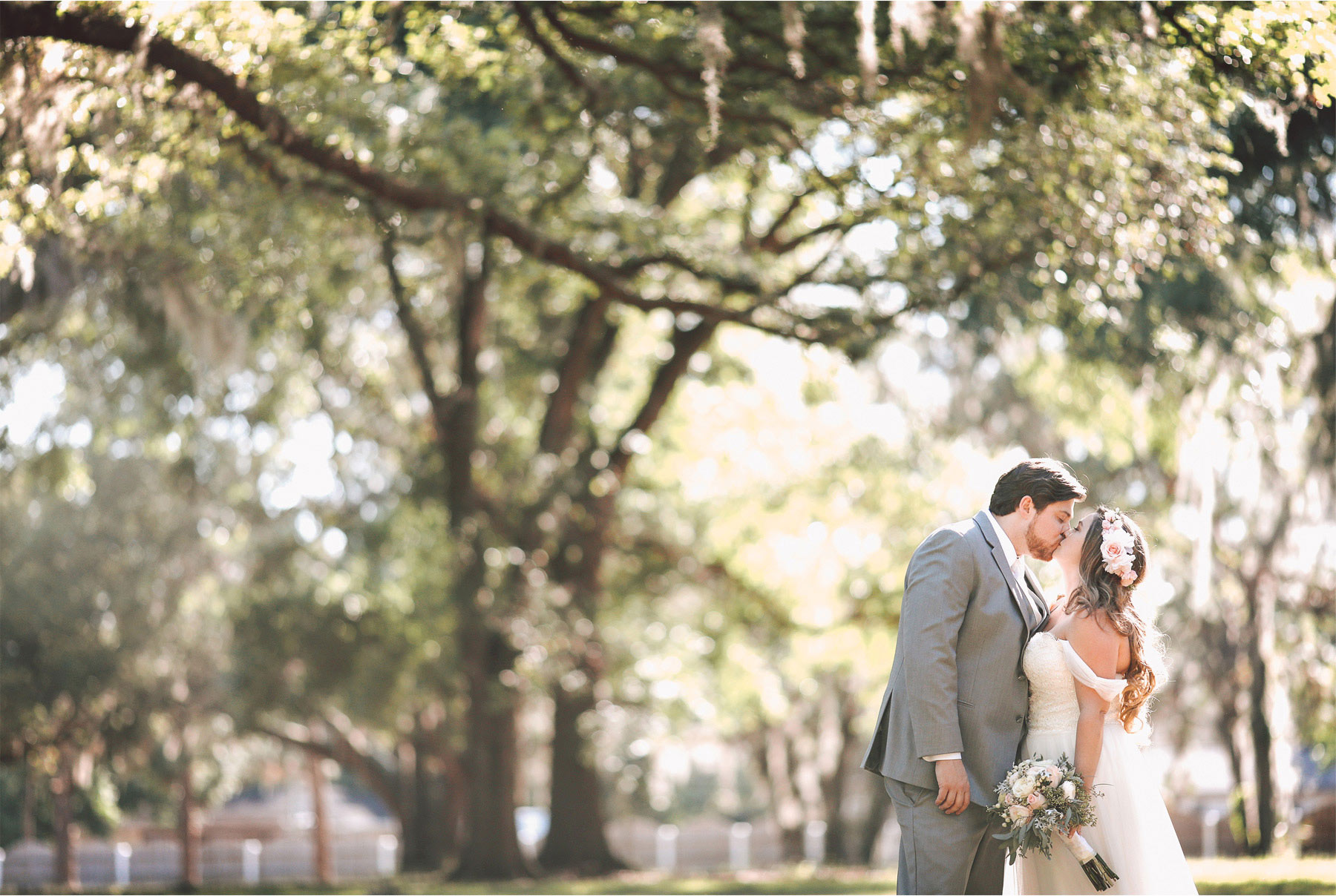 20-Brandon-Florida-Wedding-Photographer-by-Andrew-Vick-Photography-Casa-Lantana-Spring-Bride-Groom-Kiss-Flower-Crown-Vintage-Kristianna-and-Ben.jpg