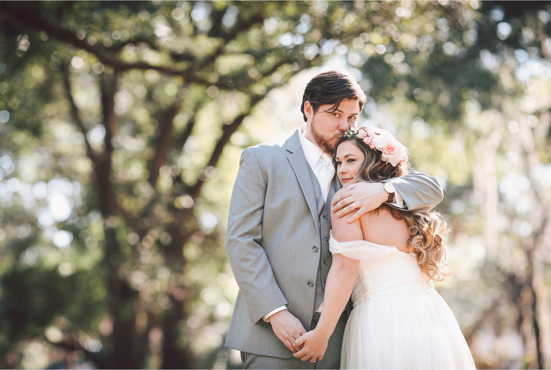 21-Brandon-Florida-Wedding-Photographer-by-Andrew-Vick-Photography-Casa-Lantana-Spring-Bride-Groom-Kiss-Flower-Crown-Embrace-Hug-Vintage-Kristianna-and-Ben.jpg