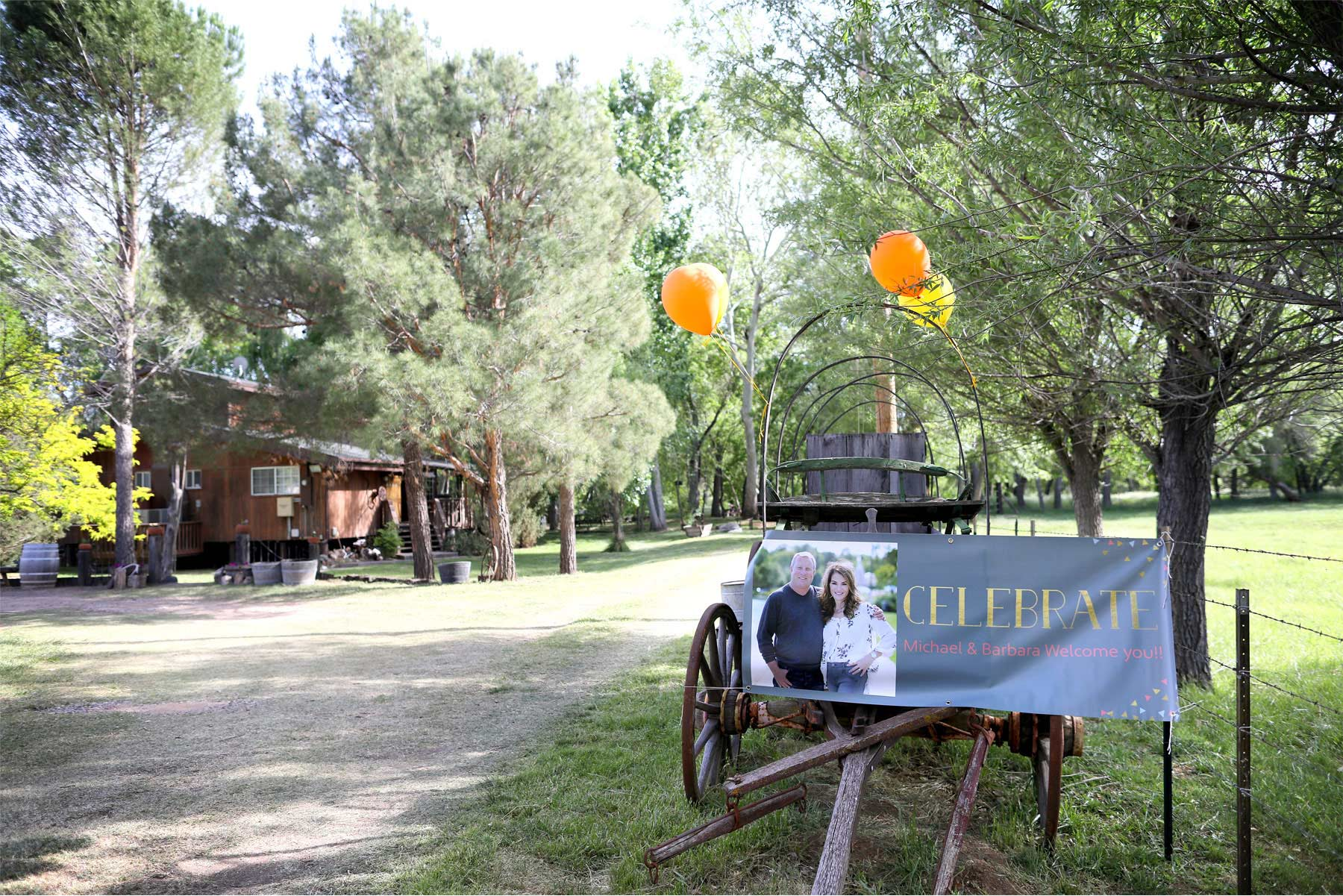 01-Cornville-Arizona-Wedding-Photographer-by-Andrew-Vick-Photography-Spring-Willow-Tree-Ranch-Rehearsal-Dinner-Sign-Barbara-and-Mike.jpg