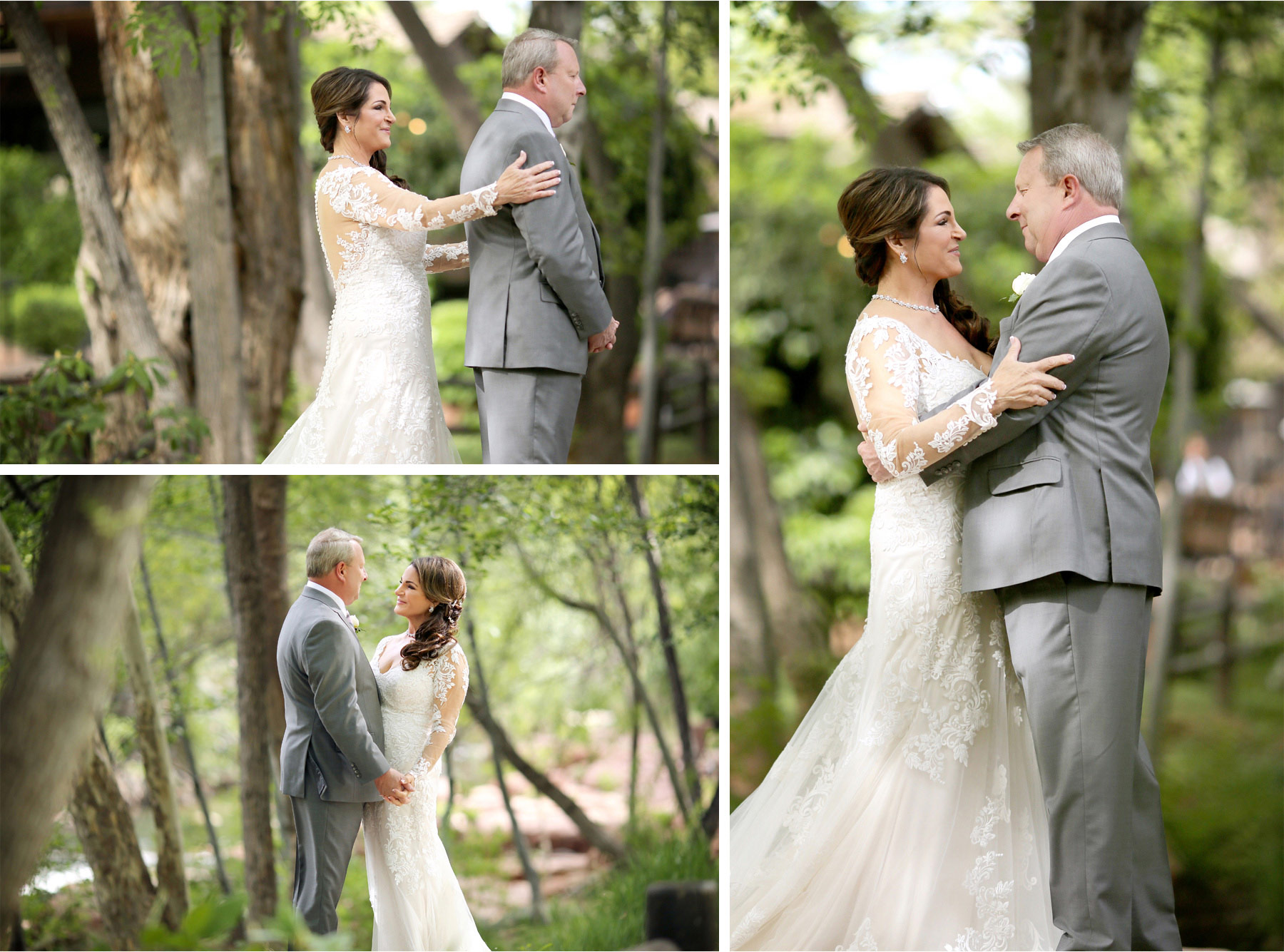 09-Sedona-Arizona-Wedding-Photographer-by-Andrew-Vick-Photography-Spring--LAuberge-de-Sedona-Resort-First-Meeting-Look-Bride-Groom-Embrace-Barbara-and-Mike.jpg