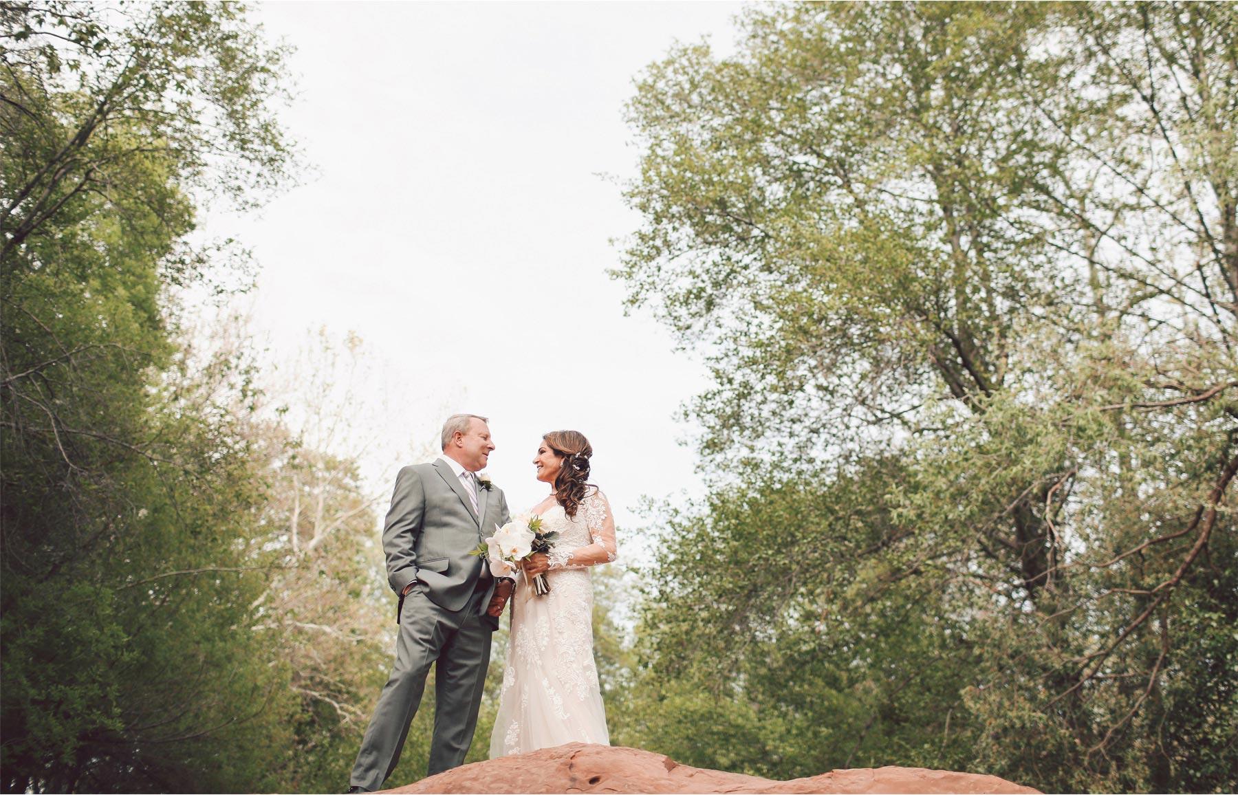 15-Sedona-Arizona-Wedding-Photographer-by-Andrew-Vick-Photography-Spring--LAuberge-de-Sedona-Resort-First-Meeting-Look-Bride-Groom-Creek-Vintage-Barbara-and-Mike.jpg