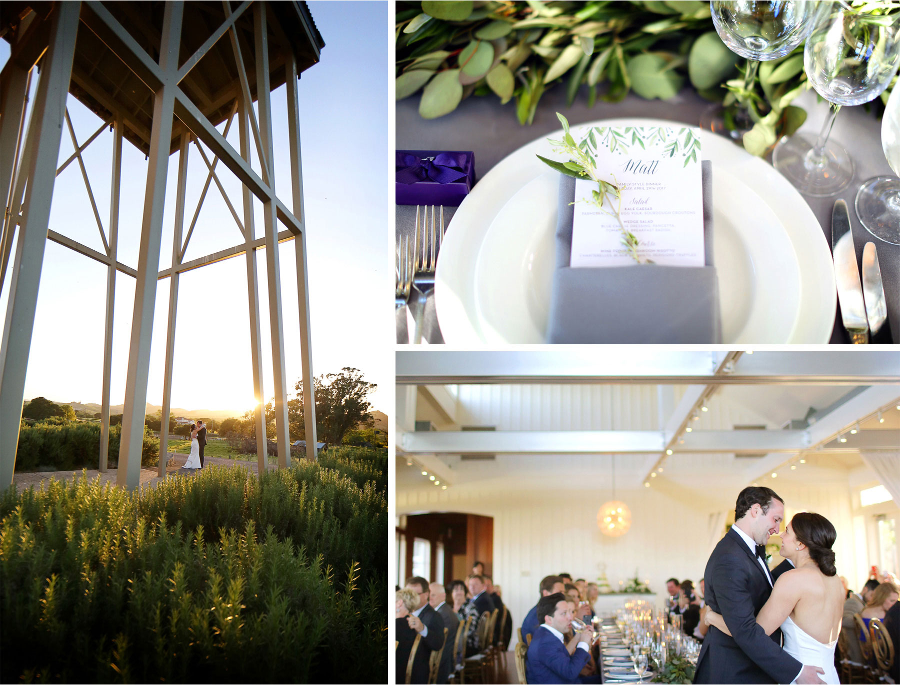 26-Napa-California-Wedding-Photographer-by-Andrew-Vick-Photography-Spring-Destination-Carneros-Resort-and-Spa-Reception-Bride-Groom-Vineyard-Winery-Table-Setting-Menu-Details-Decor-Embrace-Alex-and-Roger.jpg