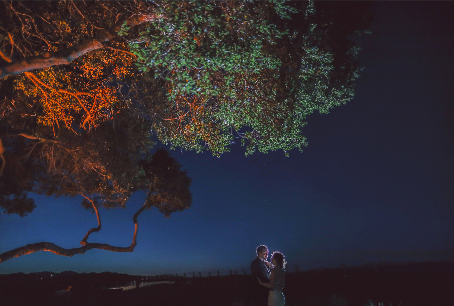 30-Napa-California-Wedding-Photographer-by-Andrew-Vick-Photography-Spring-Destination-Carneros-Resort-and-Spa-Reception-Bride-Groom-Embrace-Night-Alex-and-Roger.jpg