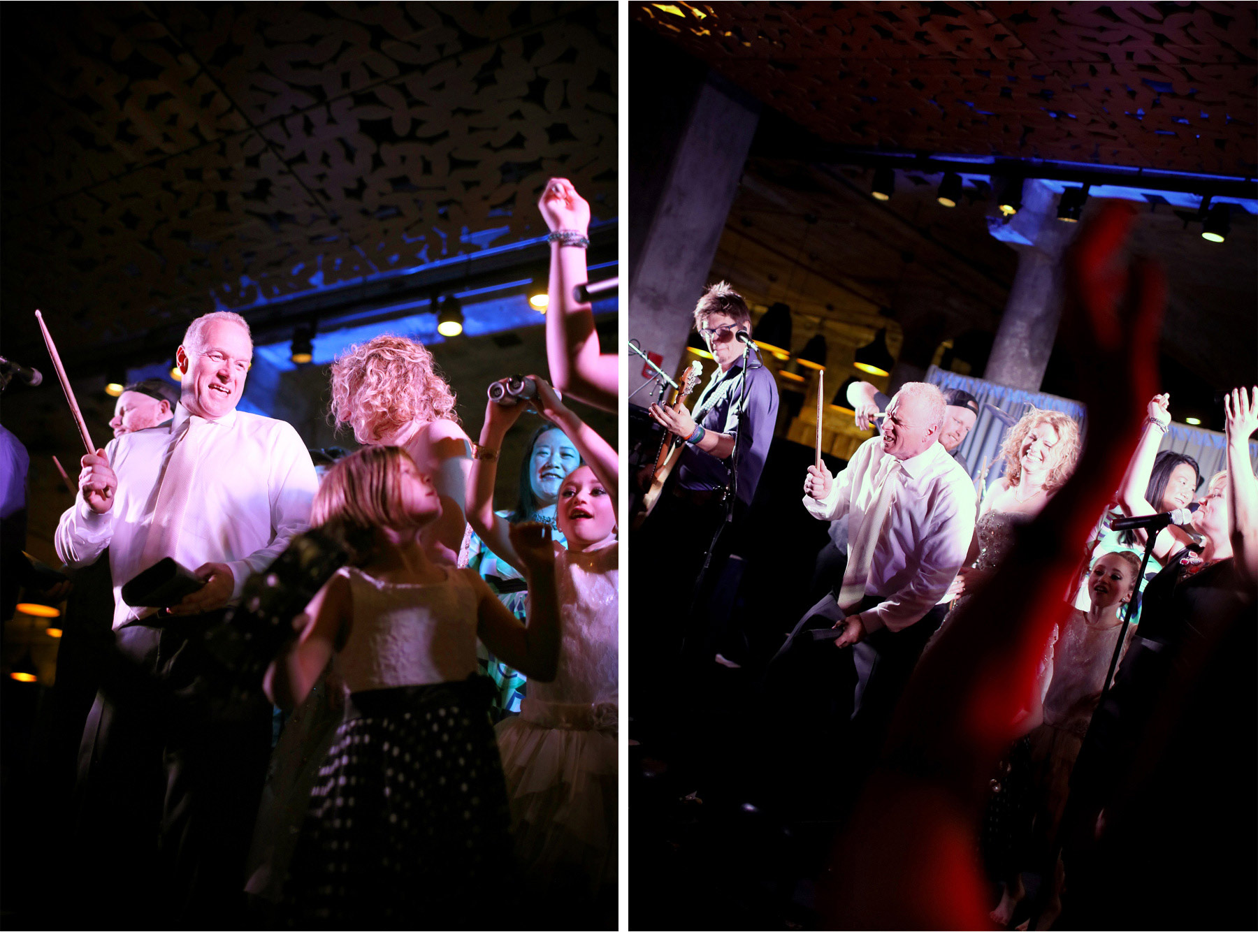 15-Minneapolis-Minnesota-Wedding-Photographer-by-Andrew-Vick-Photography-Spring-Mill-City-Museum-Downtown-Bride-Groom-Dance-Cowbell-Band-Musicians-Dannette-and-Darren.jpg