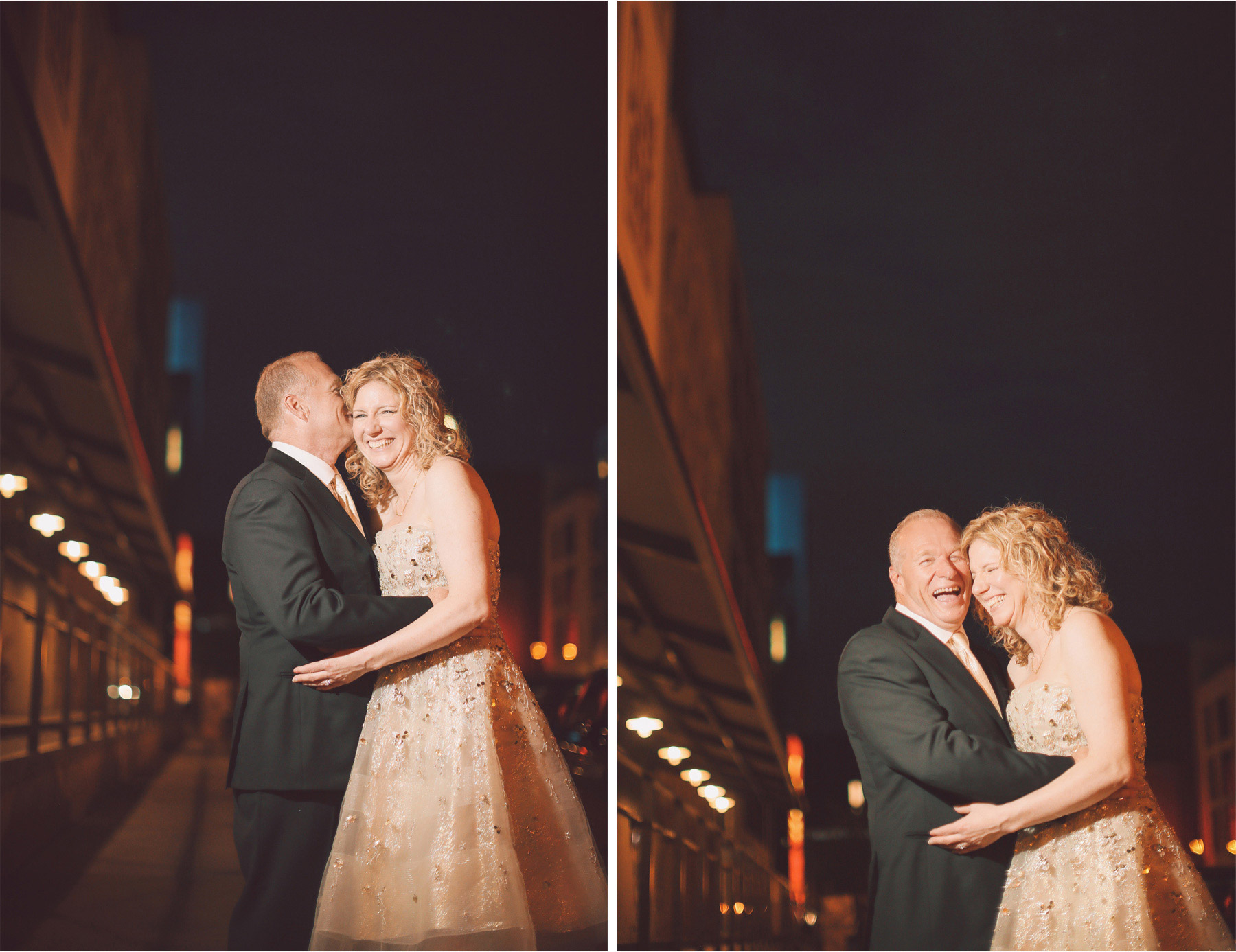 17-Minneapolis-Minnesota-Wedding-Photographer-by-Andrew-Vick-Photography-Spring-Mill-City-Museum-Downtown-Bride-Groom-Embrace-Kiss-Night-Vintage-Dannette-and-Darren.jpg