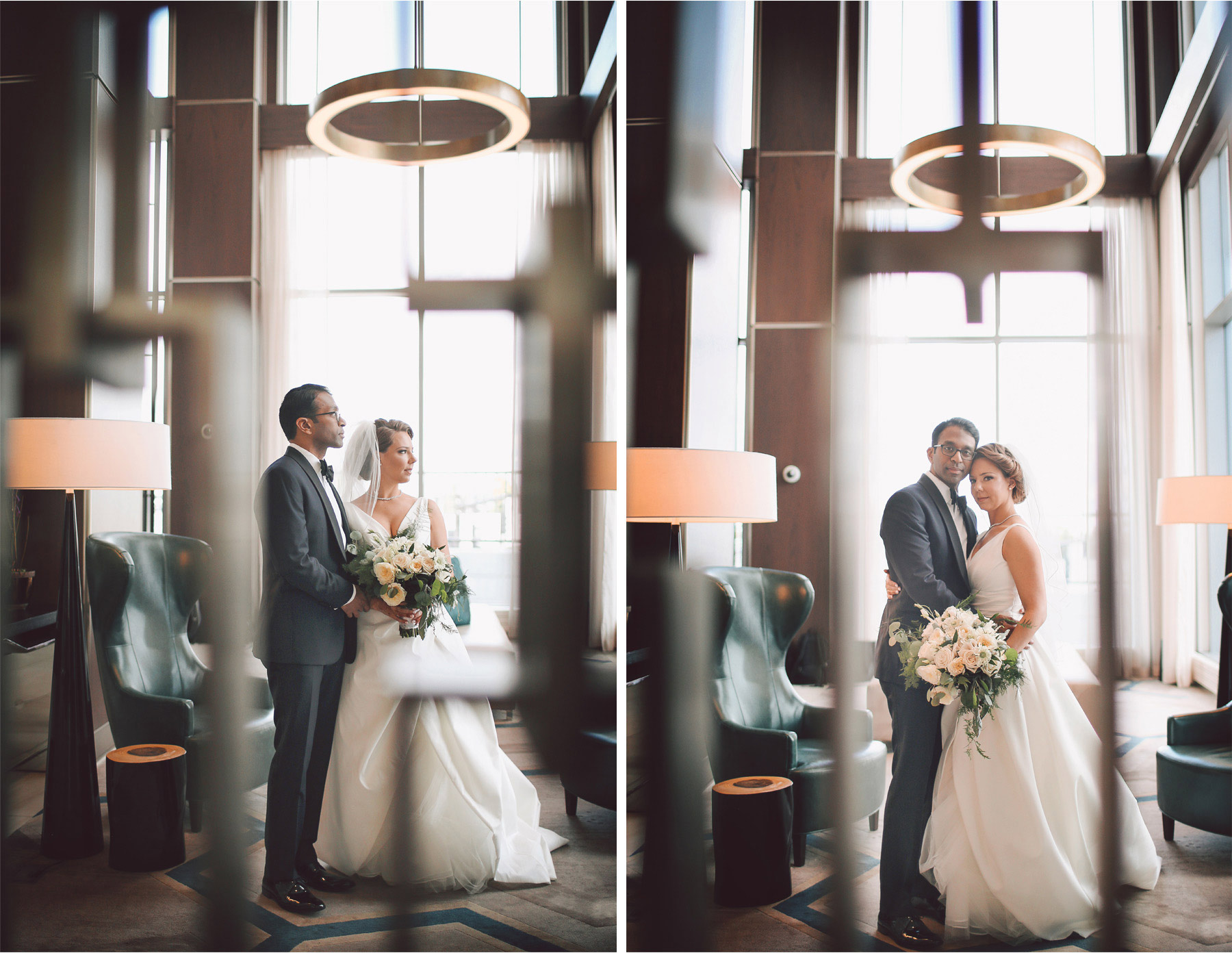 08-Bloomington-Minneapolis-Minnesota-Wedding-Photographer-by-Andrew-Vick-Photography-JW-Marriott-Mall-of-America-MOA-Spring-First-Meeting-Look-Bride-Groom-Hotel-Embrace-Vintage-Rachel-and-Venu.jpg