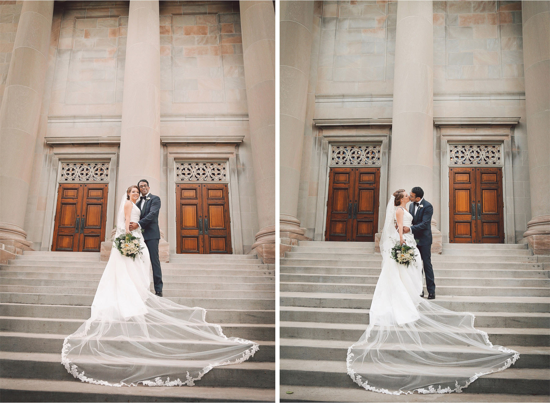 11-Minneapolis-Minnesota-Wedding-Photographer-by-Andrew-Vick-Photography--Spring-Temple-Israel-Synagogue-Bride-Groom-Embrace-Kiss-Vintage-Rachel-and-Venu.jpg