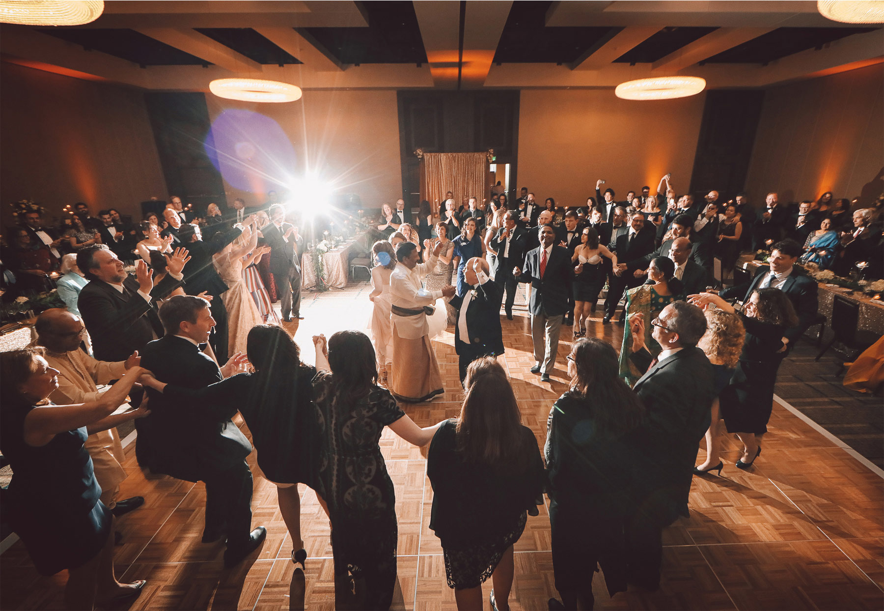28-Minneapolis-Minnesota-Wedding-Photographer-by-Andrew-Vick-Photography-JW-Marriott-Mall-of-America-MOA-Spring-Guest-Indian-Hora-Dance-Vintage-Rachel-and-Venu.jpg