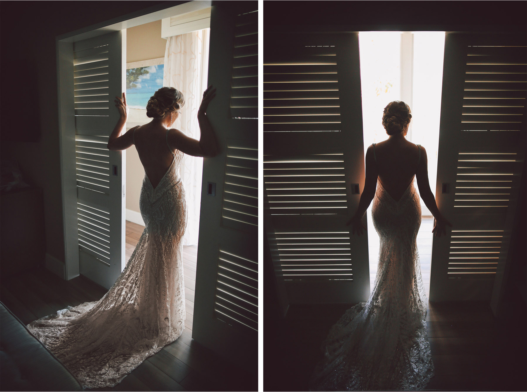 03-Key-Largo-Florida-Keys-Wedding-Photographer-by-Andrew-Vick-Photography-Playa-Largo-Resort-and-Spa-Hotel-Destination-Winter-Getting-Ready-Bride-Dress-Silhouette-Vintage-Carrie-and-Brian.jpg