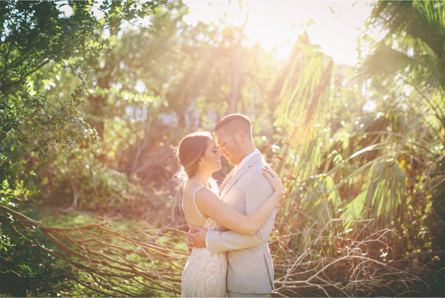 20-Key-Largo-Florida-Keys-Wedding-Photographer-by-Andrew-Vick-Photography-Playa-Largo-Resort-and-Spa-Hotel-Destination-Winter-Wear-It-Again-Bride-Groom-Embrace-Carrie-and-Brian.jpg
