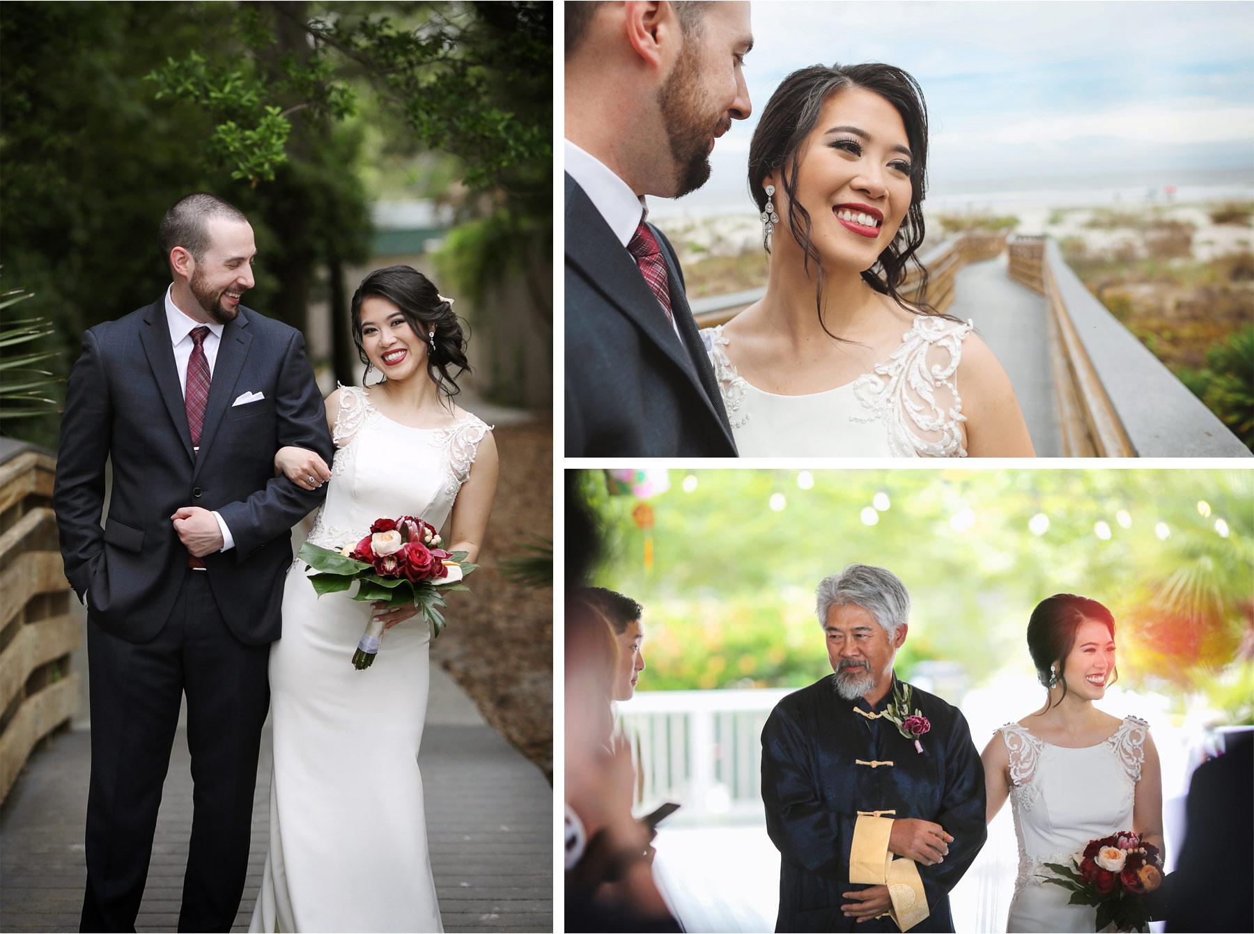 13-South-Carolina-Wedding-by-Vick-Photography-Hilton-Head-Island-Omni-Oceanfront-Hotel-Destination-Boardwalk-Ceremony-Tropical-Felyn-and-Will.jpg